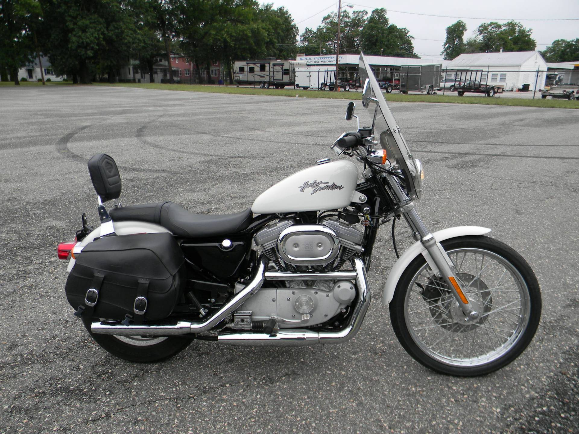 2002 Harley-Davidson XL 883C Sportster® Custom in Springfield, Massachusetts
