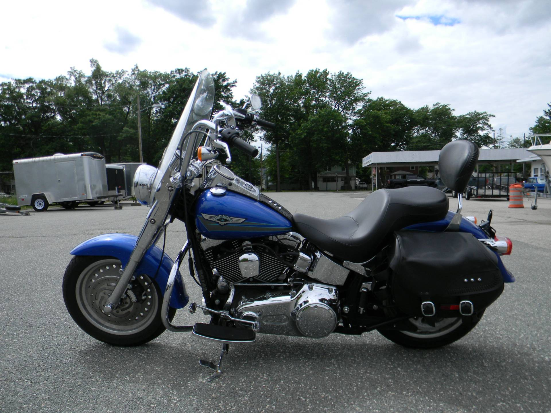 2007 Harley-Davidson FLSTF Softail® Fat Boy® in Springfield, Massachusetts - Photo 5