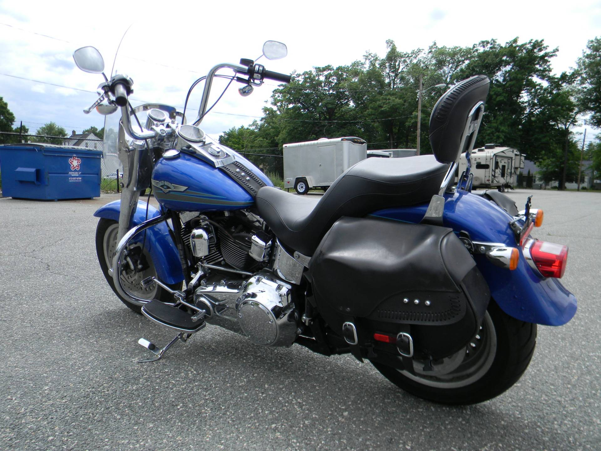 2007 Harley-Davidson FLSTF Softail® Fat Boy® in Springfield, Massachusetts - Photo 6
