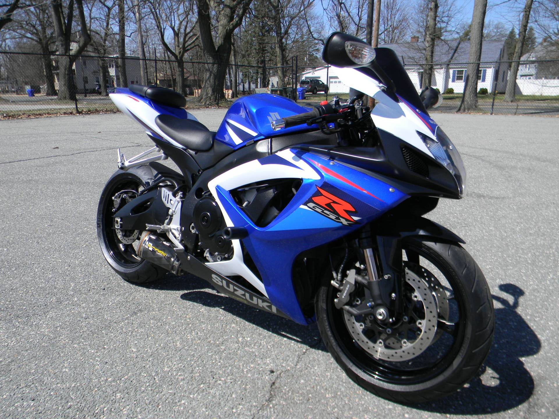 2007 Suzuki GSX-R750™ in Springfield, Massachusetts