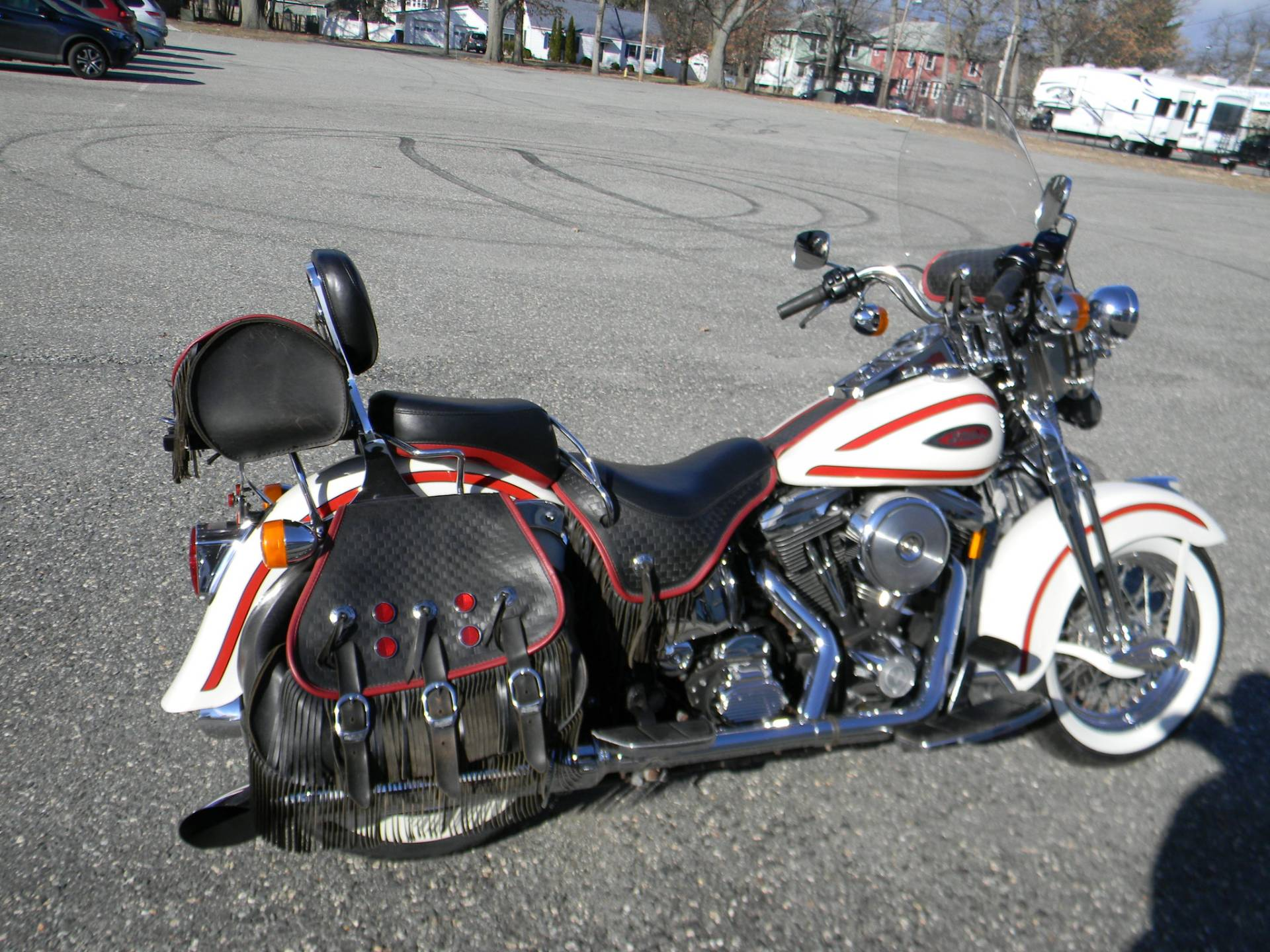1997 Harley-Davidson FLSTS Heritage Softail Springer in Springfield, Massachusetts - Photo 3