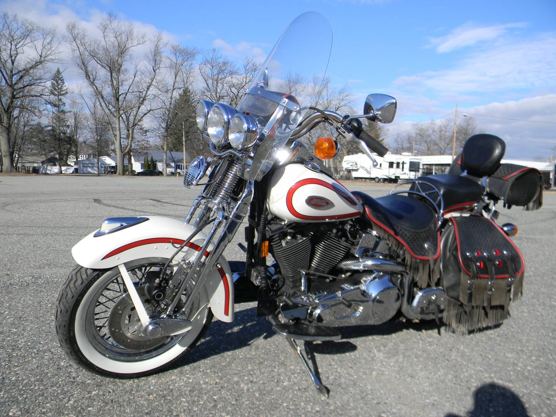 1997 Harley-Davidson FLSTS Heritage Softail Springer in Springfield, Massachusetts - Photo 5
