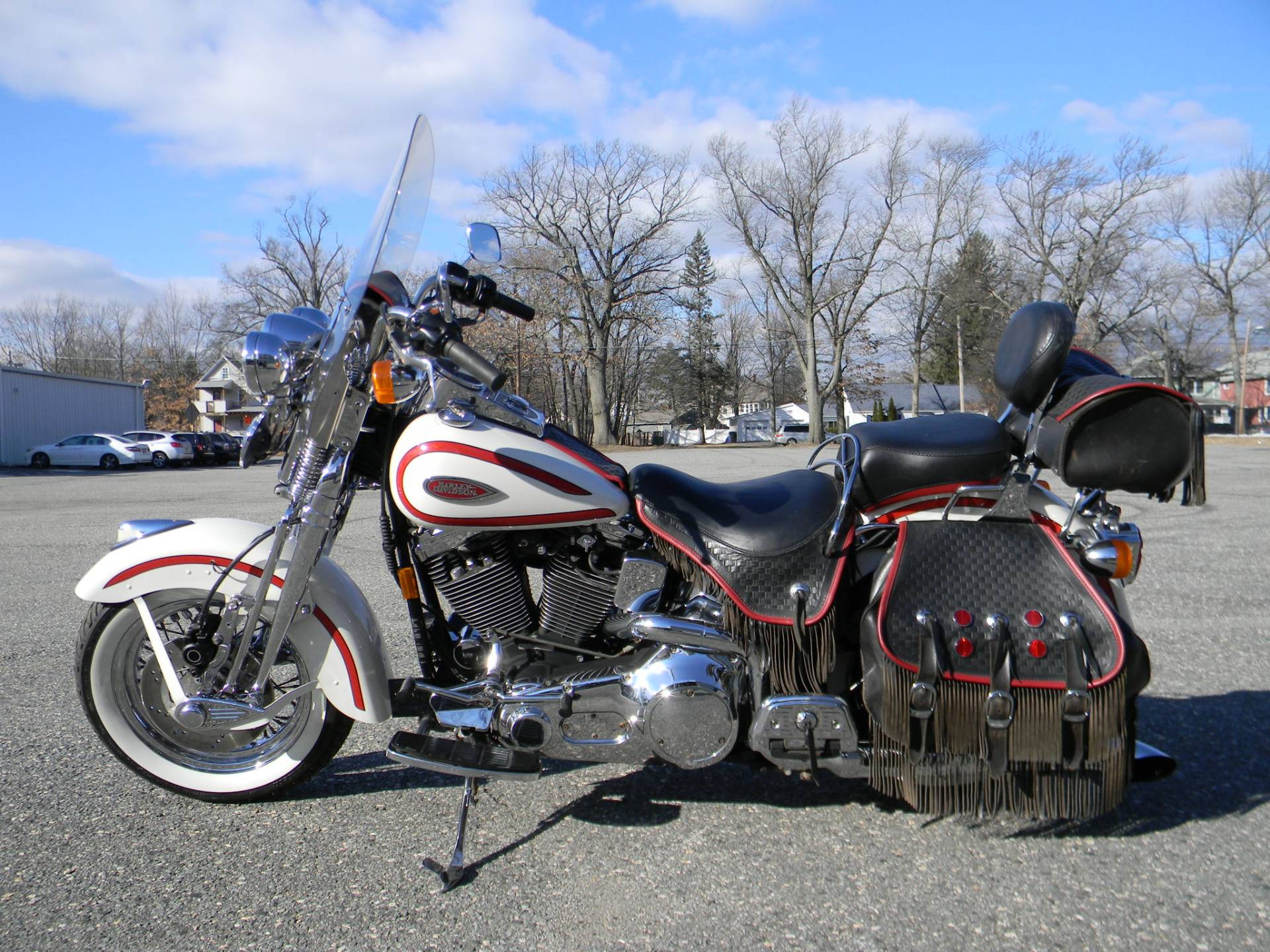 1997 Harley-Davidson FLSTS Heritage Softail Springer in Springfield, Massachusetts - Photo 6