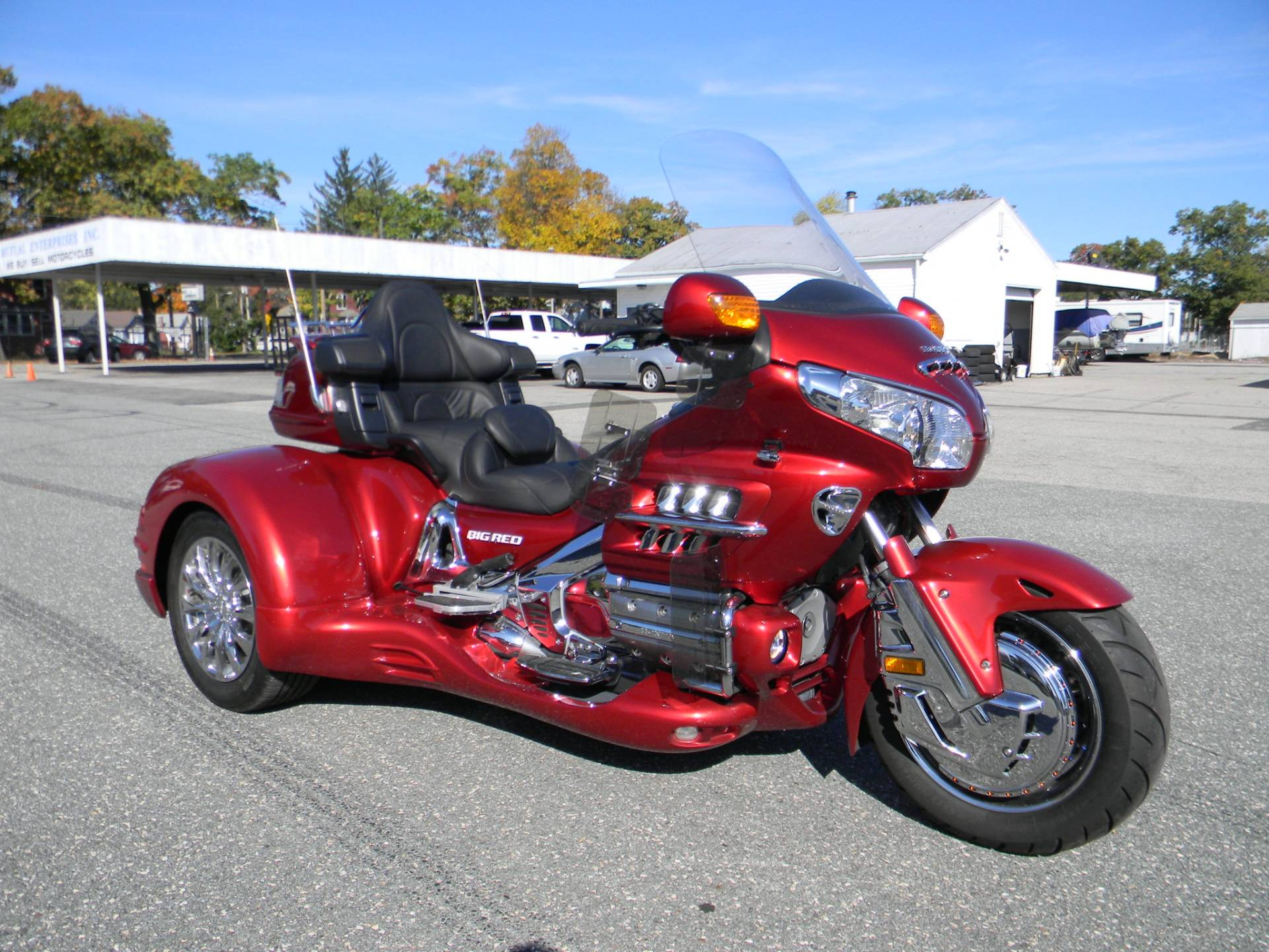 2008 Honda Gold Wing® Audio Comfort Navi in Springfield, Massachusetts - Photo 2