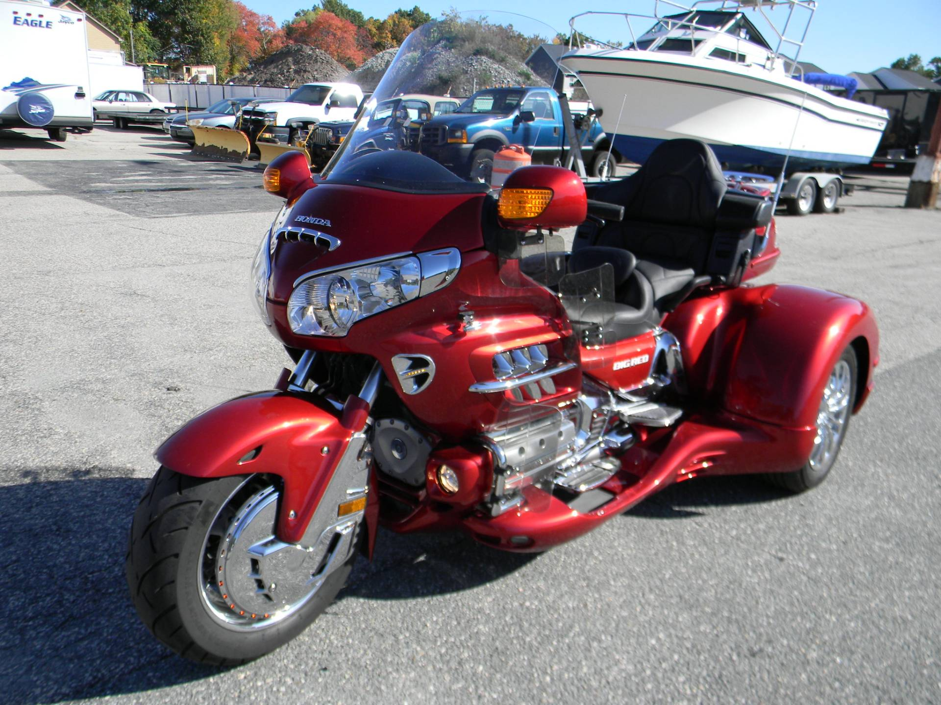 2008 Honda Gold Wing® Audio Comfort Navi in Springfield, Massachusetts - Photo 7