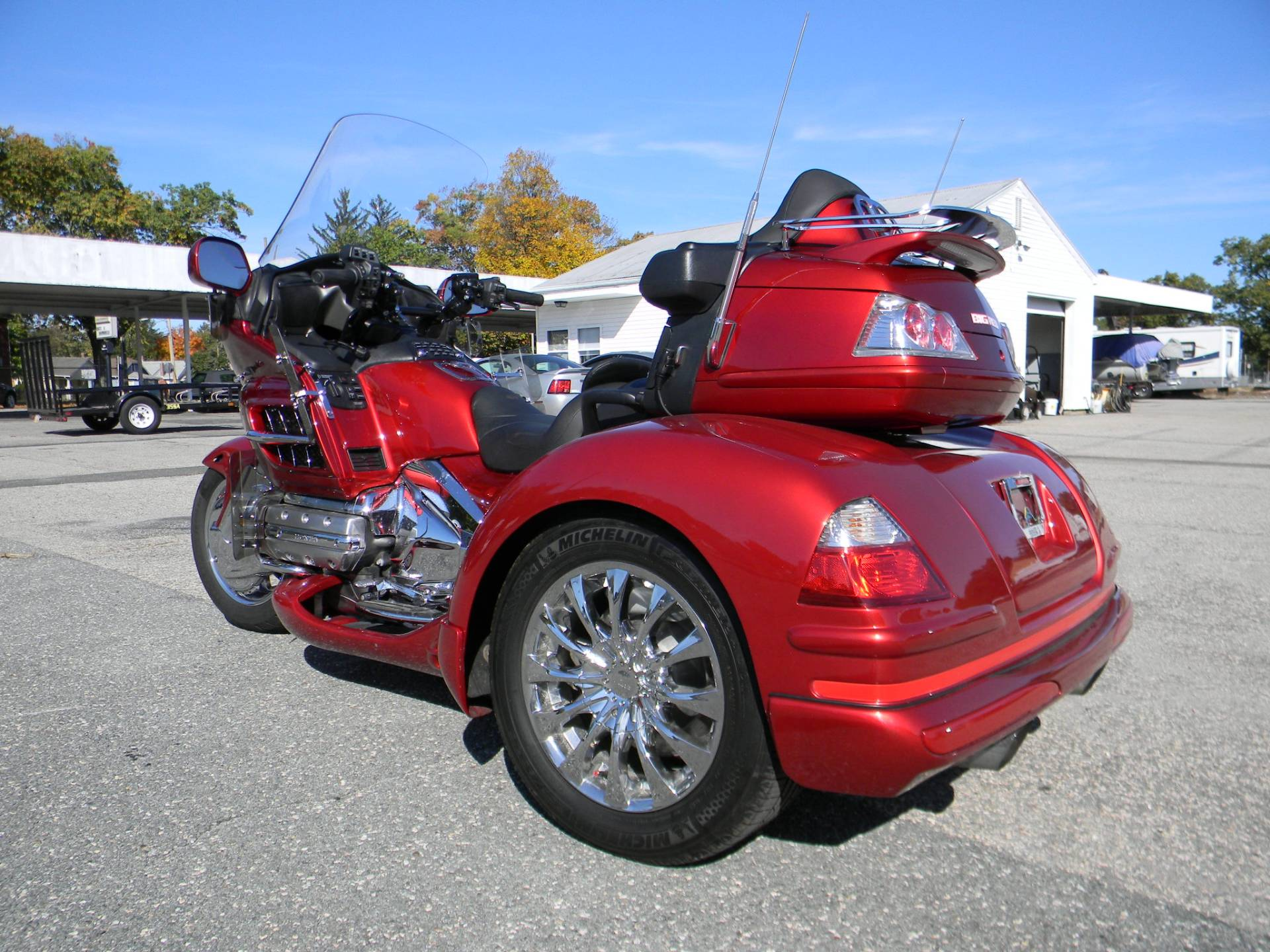 2008 Honda Gold Wing® Audio Comfort Navi in Springfield, Massachusetts - Photo 10
