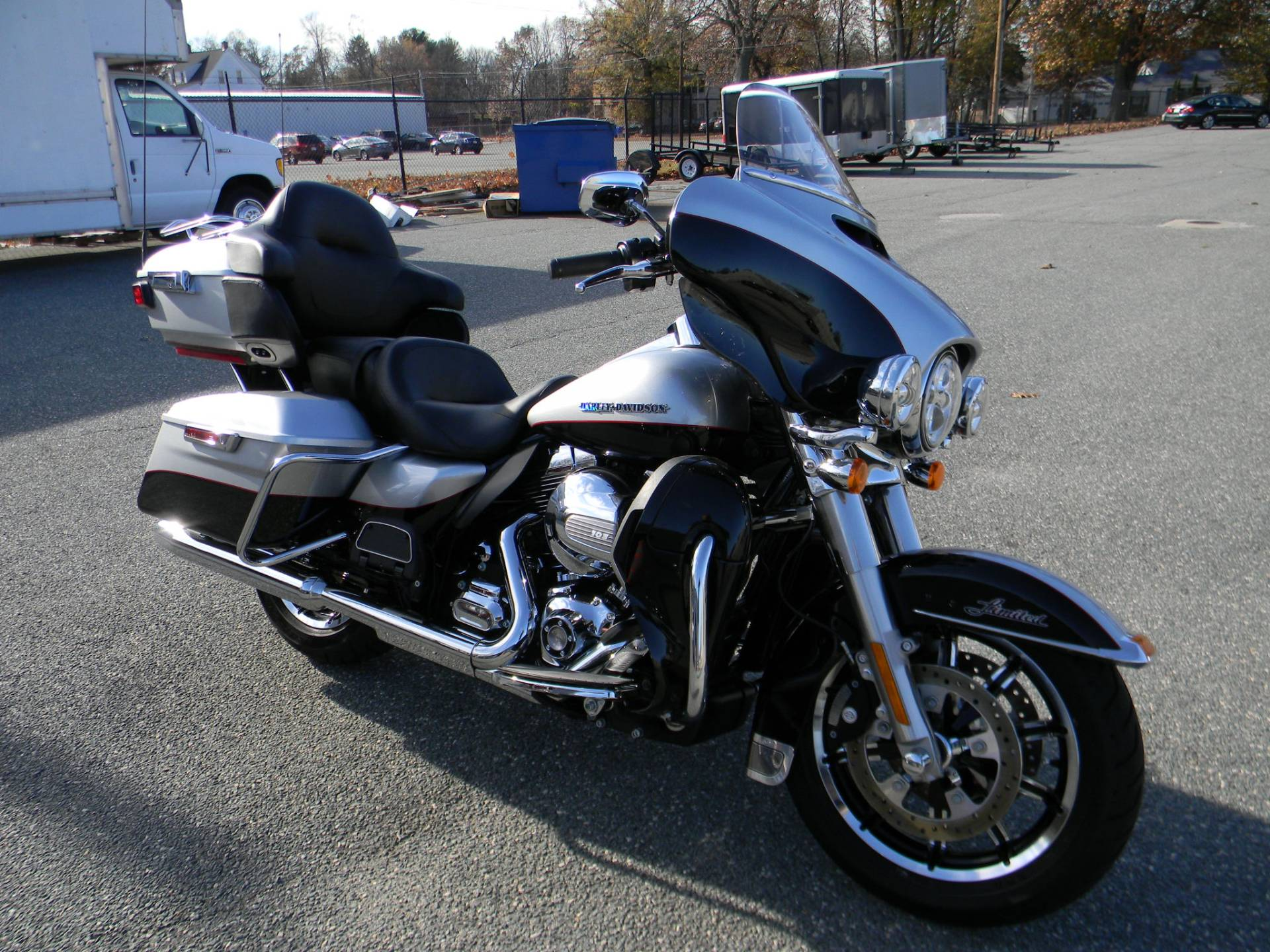 2015 Harley-Davidson Ultra Limited in Springfield, Massachusetts