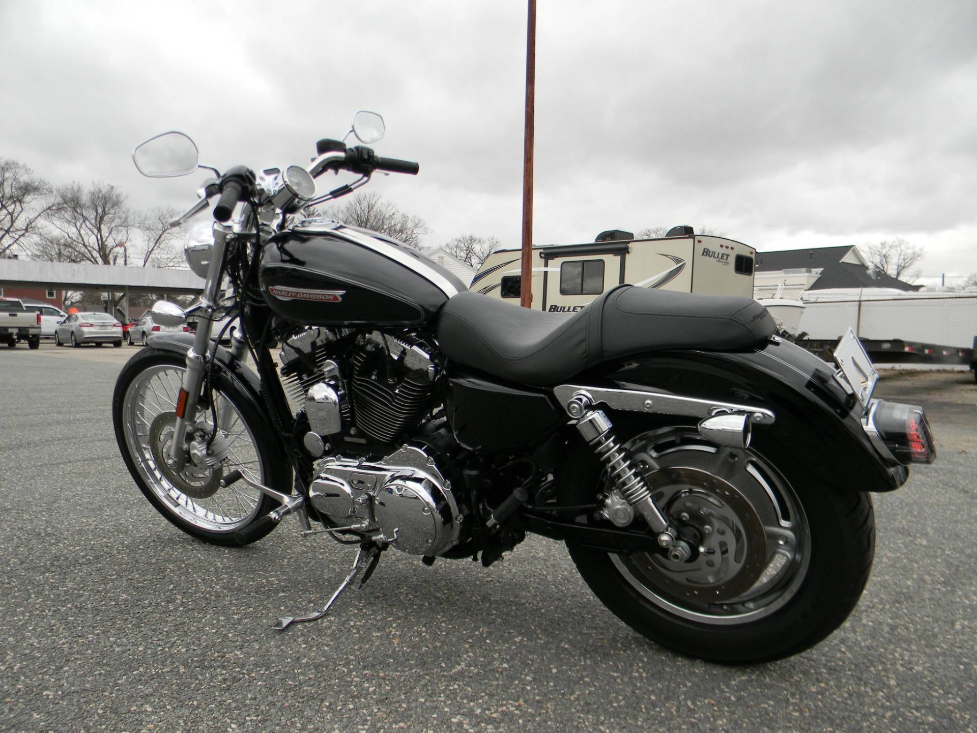 2009 Harley-Davidson Sportster 1200 Custom in Springfield, Massachusetts - Photo 7
