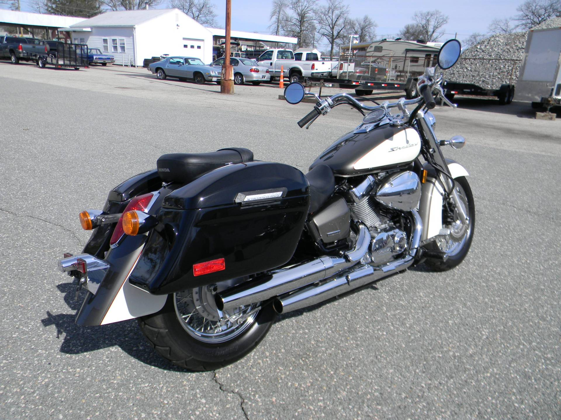2009 Honda Shadow Aero® in Springfield, Massachusetts - Photo 3