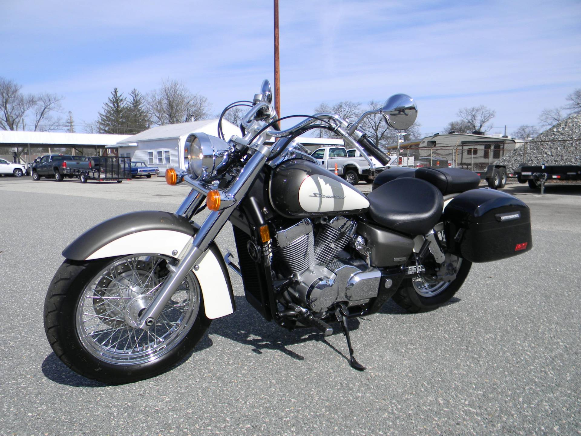 2009 Honda Shadow Aero® in Springfield, Massachusetts - Photo 4