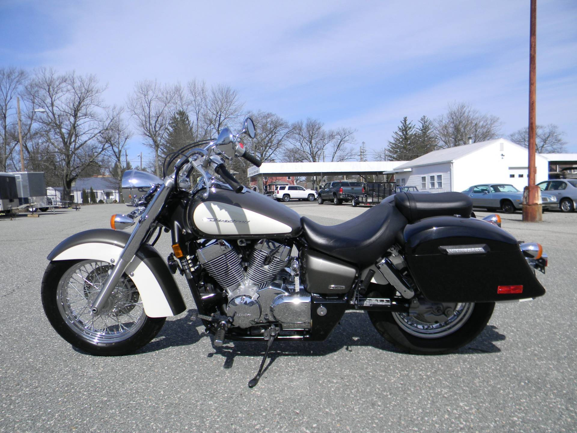 2009 Honda Shadow Aero® in Springfield, Massachusetts - Photo 5