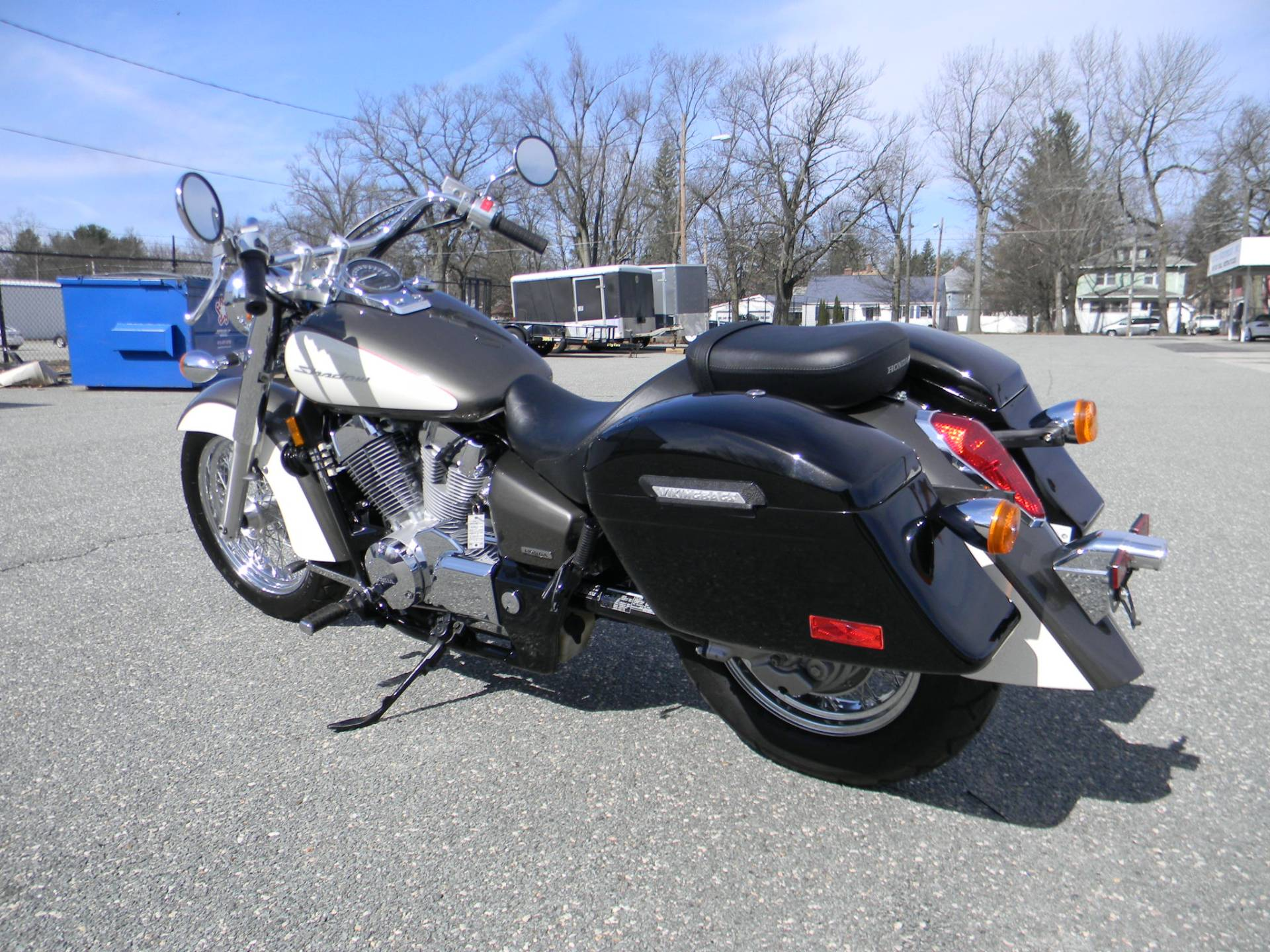 2009 Honda Shadow Aero® in Springfield, Massachusetts - Photo 6