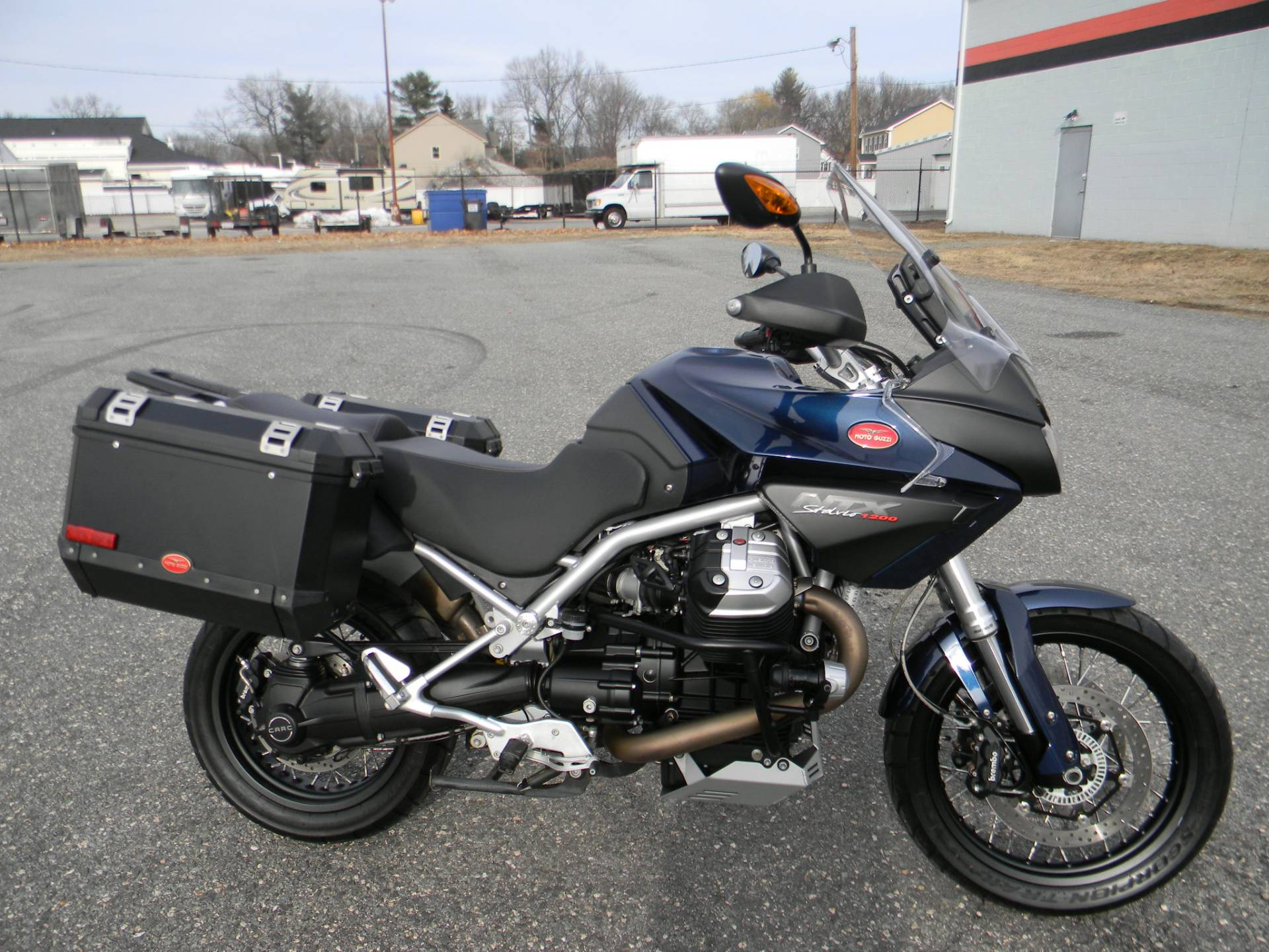 2015 Moto Guzzi Stelvio 1200 NXT ABS in Springfield, Massachusetts - Photo 1