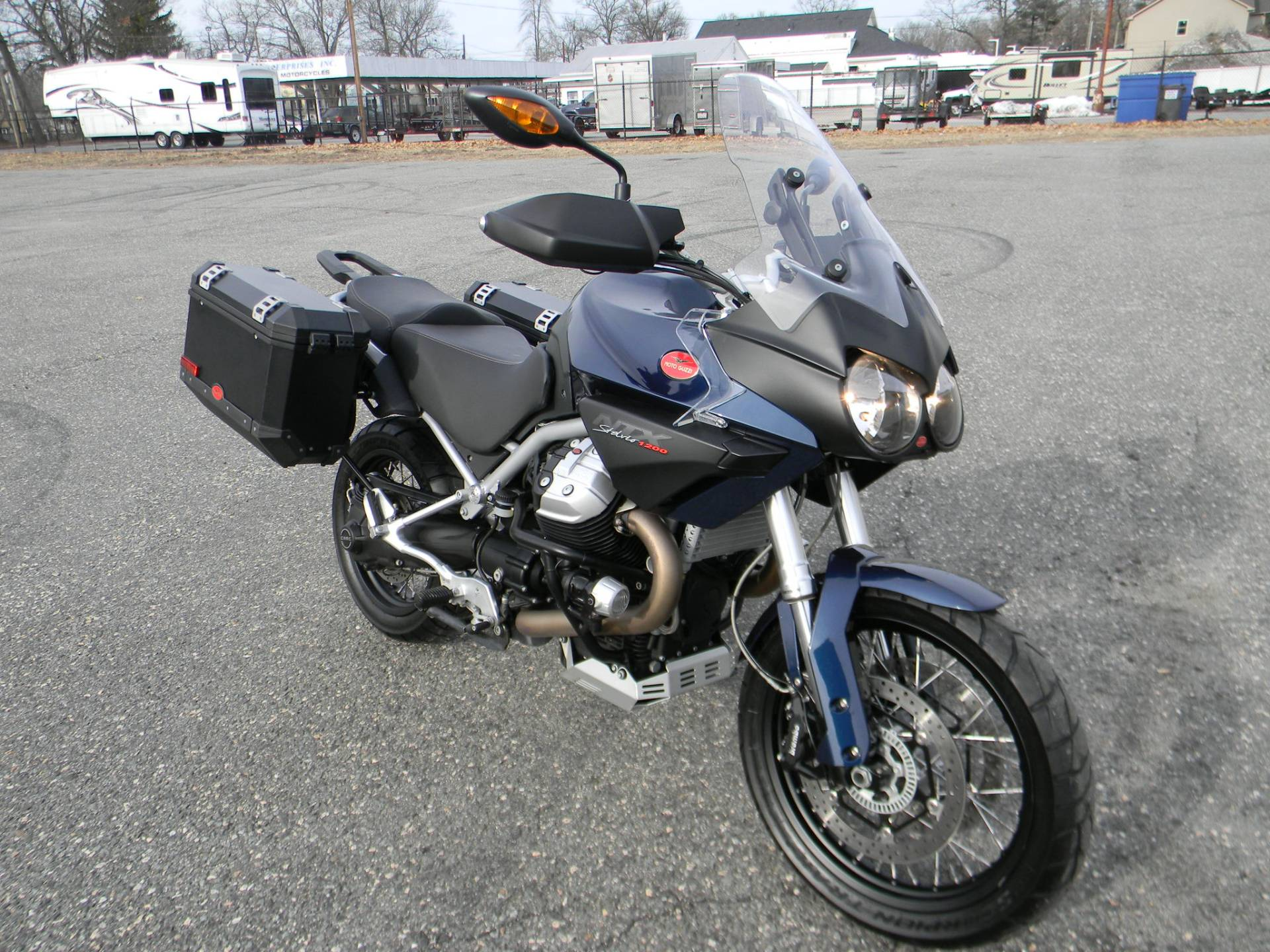 2015 Moto Guzzi Stelvio 1200 NXT ABS in Springfield, Massachusetts - Photo 2