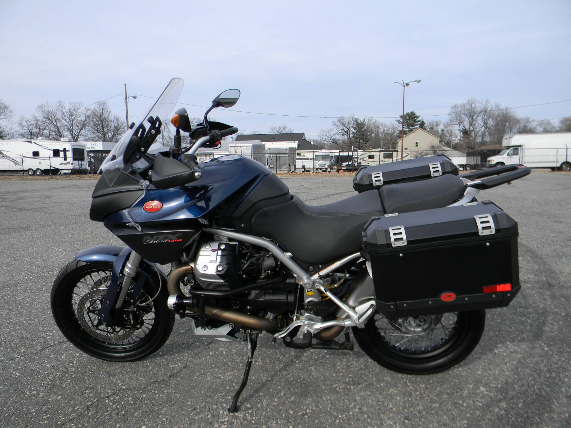 2015 Moto Guzzi Stelvio 1200 NXT ABS in Springfield, Massachusetts - Photo 6