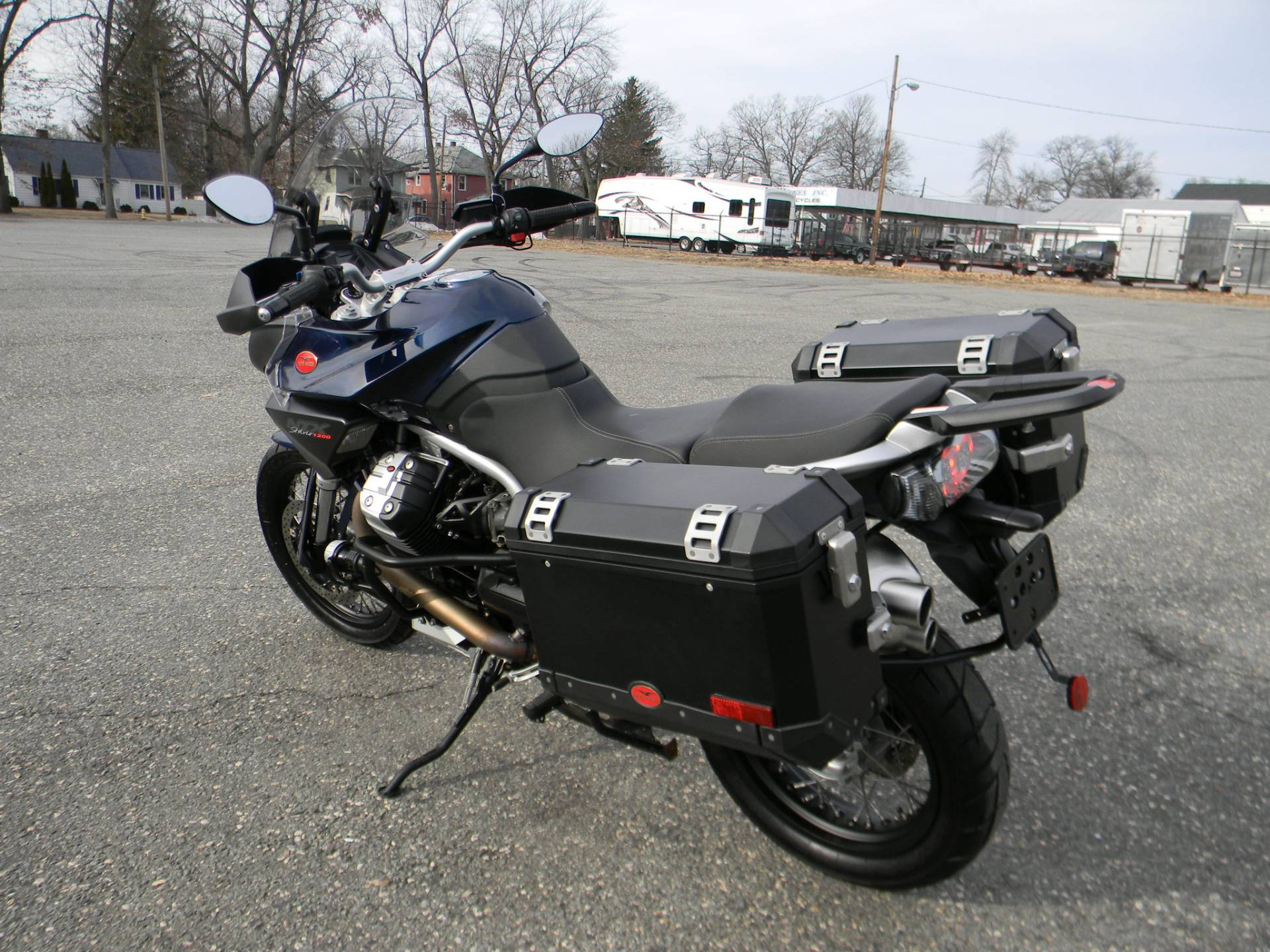 2015 Moto Guzzi Stelvio 1200 NXT ABS in Springfield, Massachusetts - Photo 7