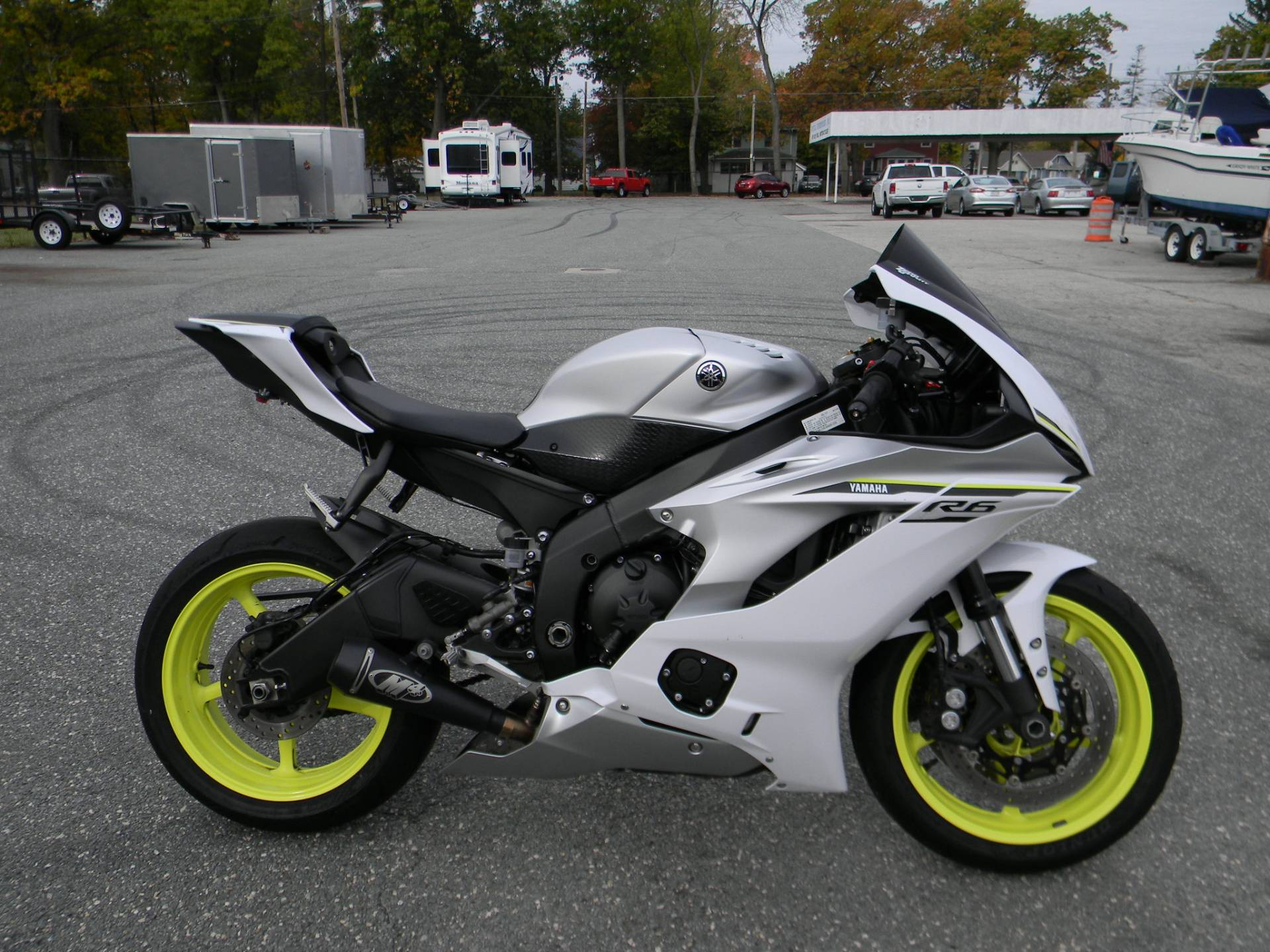 2017 Yamaha YZF-R6 in Springfield, Massachusetts - Photo 1