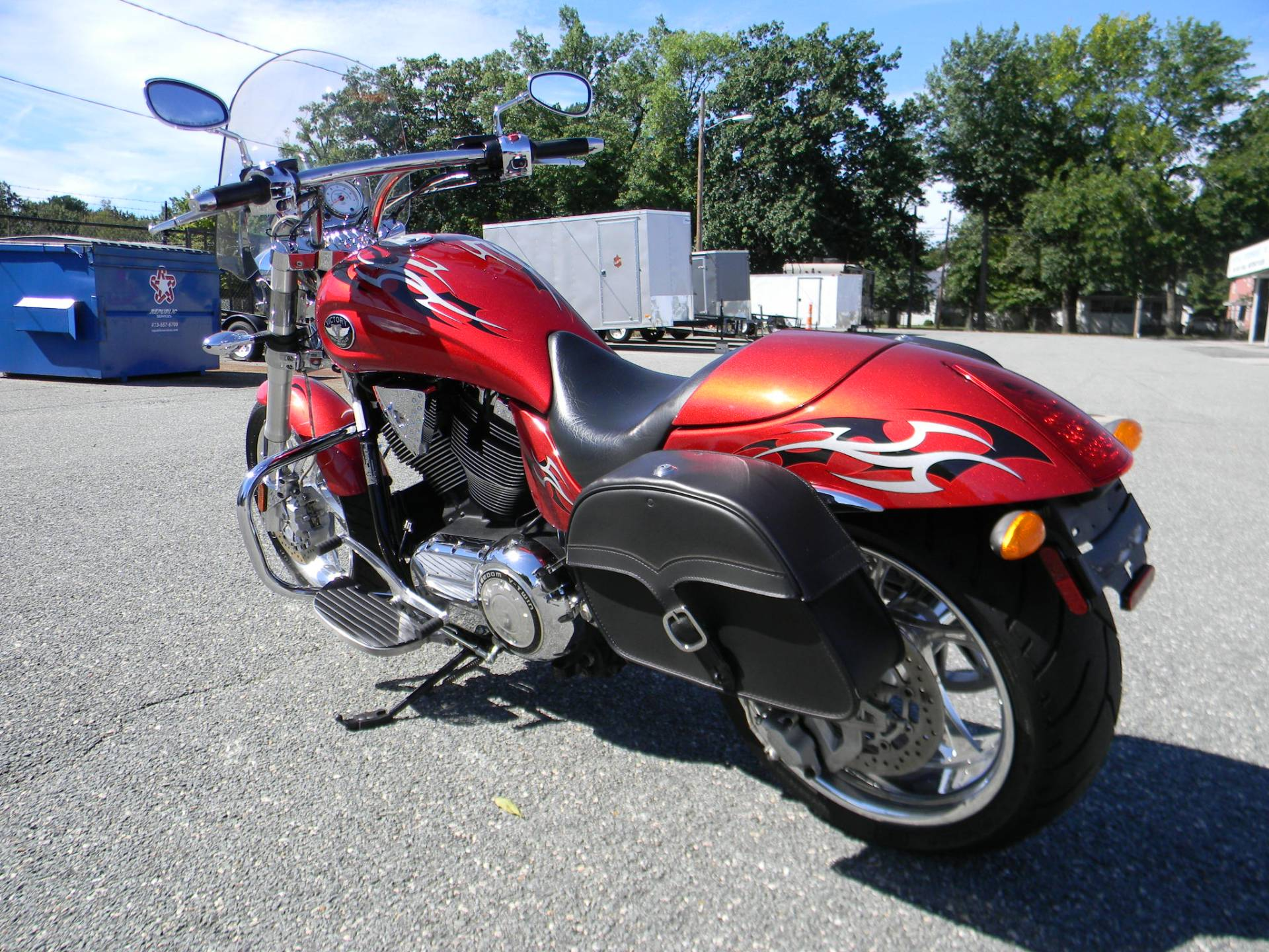 2009 Victory Hammer® in Springfield, Massachusetts