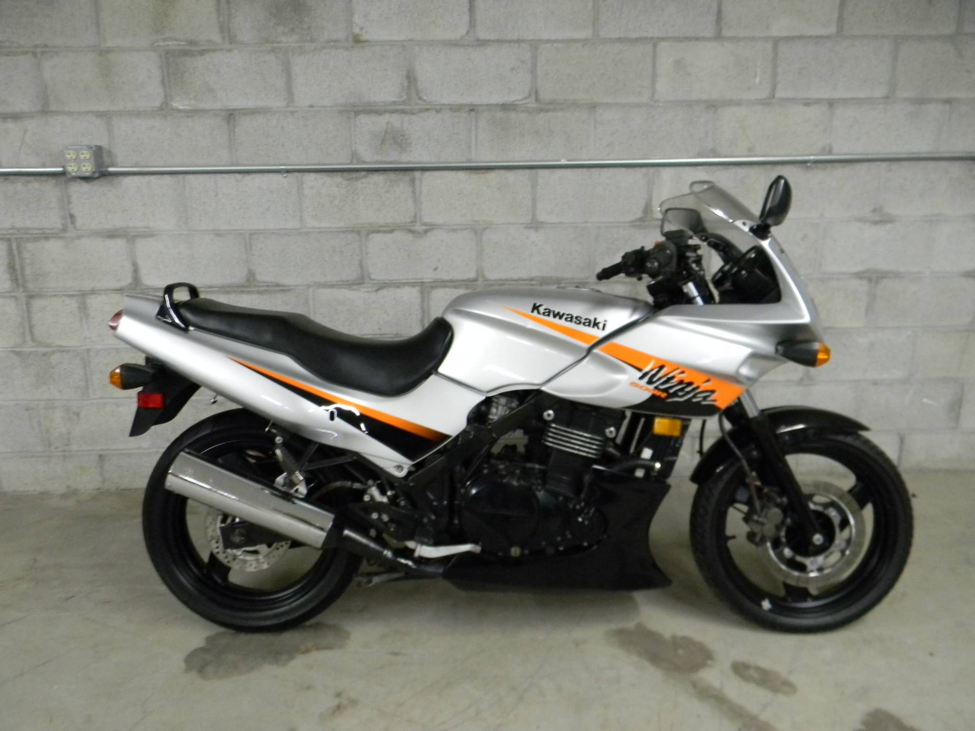 2006 Kawasaki Ninja 500R in Springfield, Massachusetts