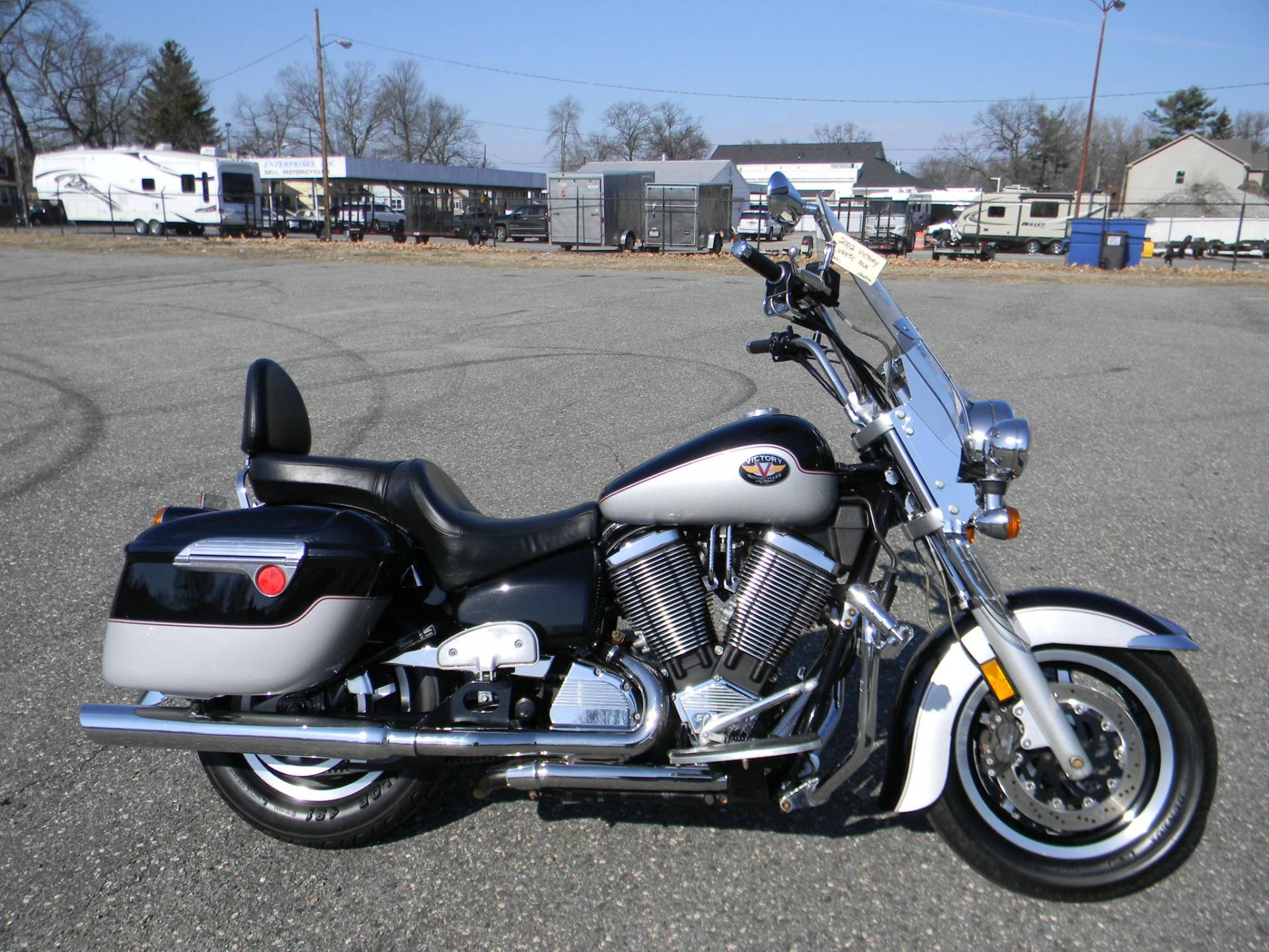 2002 Victory V92TC Deluxe in Springfield, Massachusetts - Photo 1