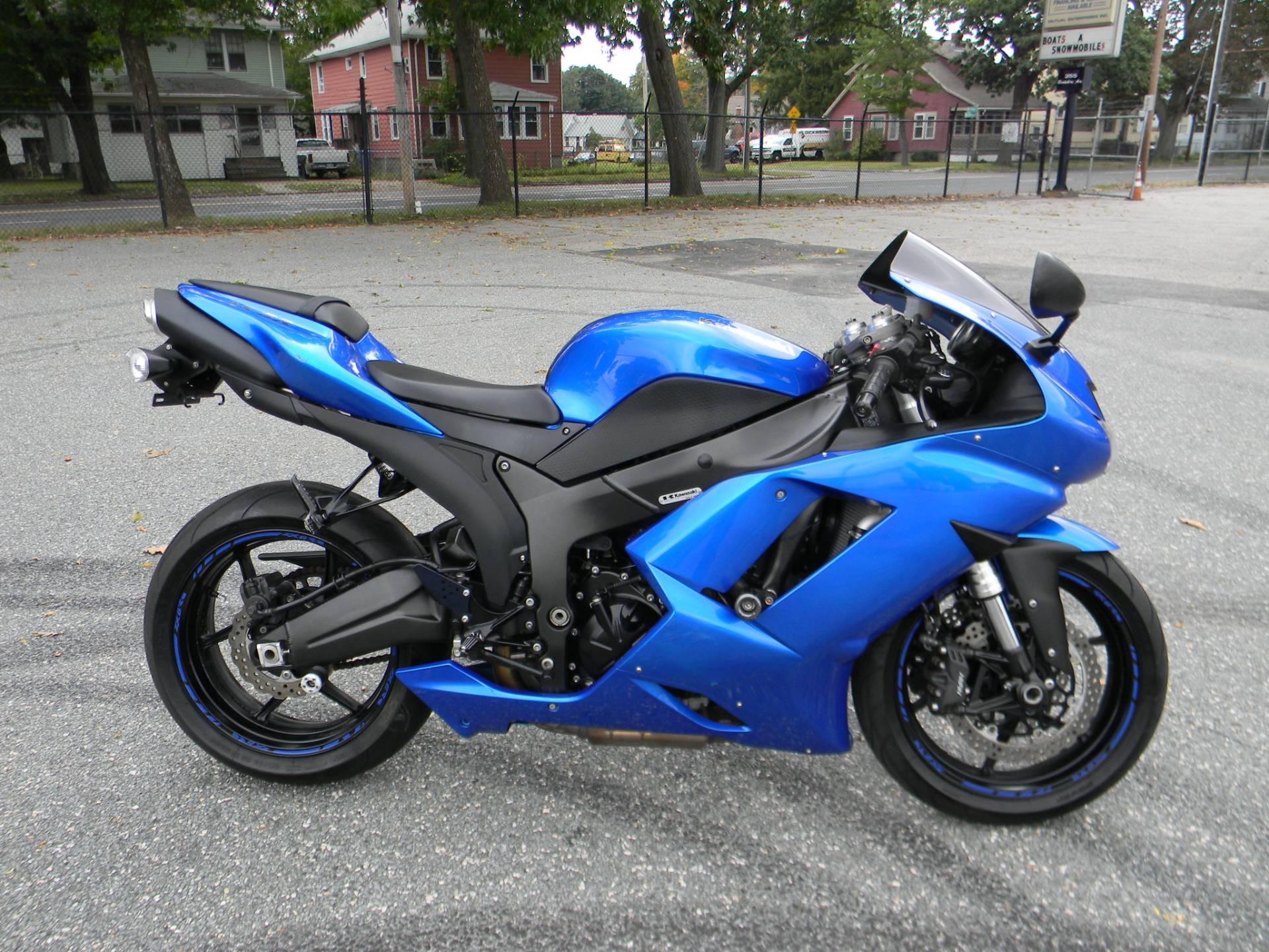 2008 Kawasaki Ninja ZX-6R for sale 1646