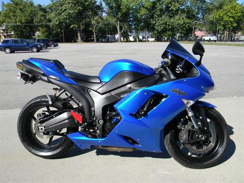 2008 Kawasaki Ninja® ZX™-6R in Springfield, Massachusetts