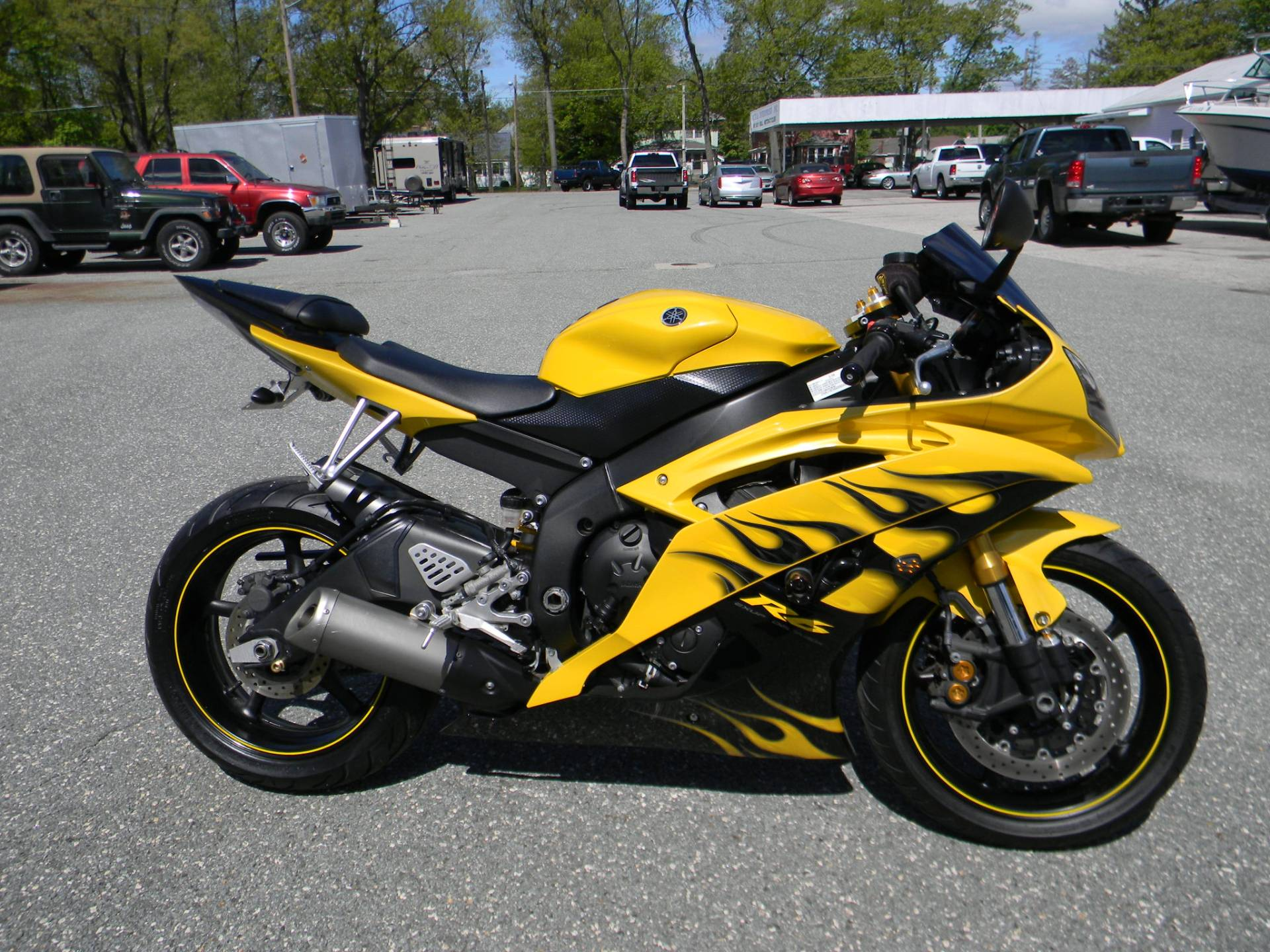2008 Yamaha YZF-R6 for sale 123673