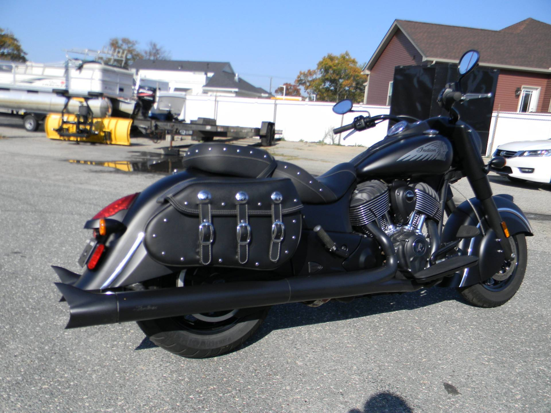 2018 Indian Chief® Dark Horse® ABS in Springfield, Massachusetts - Photo 3