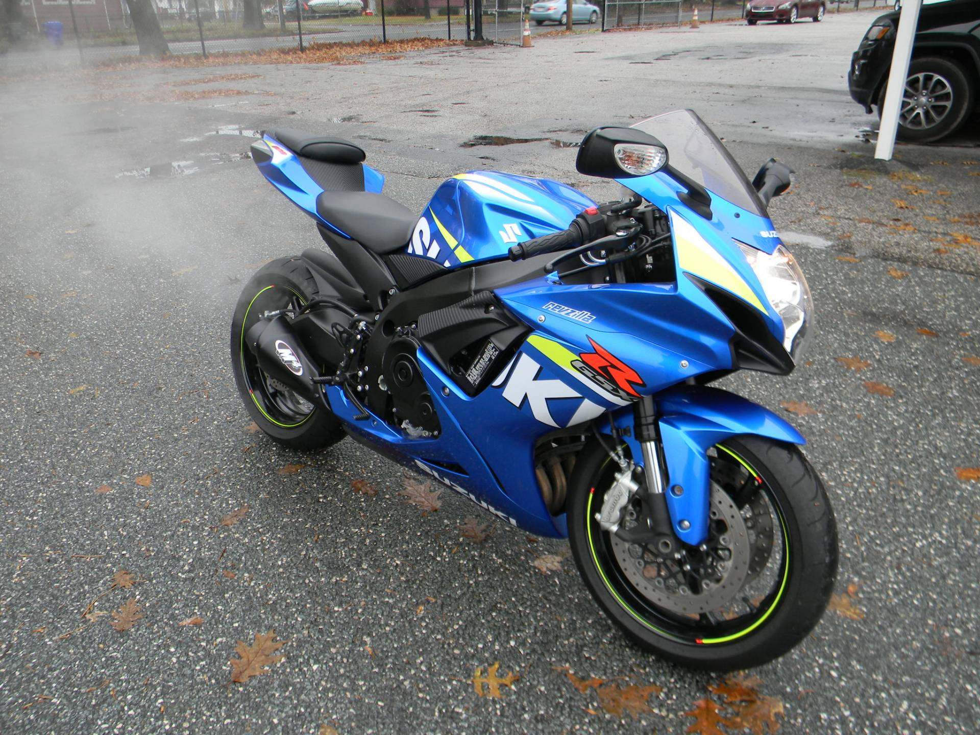 2015 Suzuki GSX-R600 in Springfield, Massachusetts