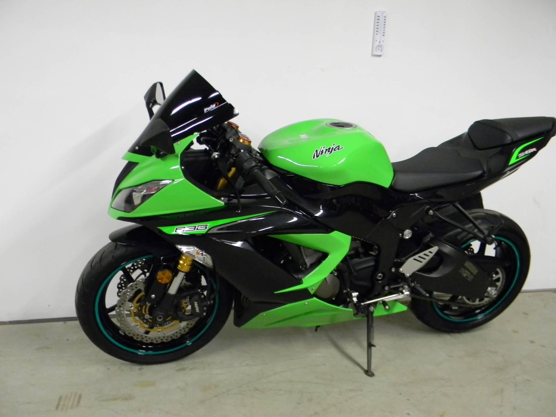 2013 Kawasaki Ninja® ZX™-6R in Springfield, Massachusetts
