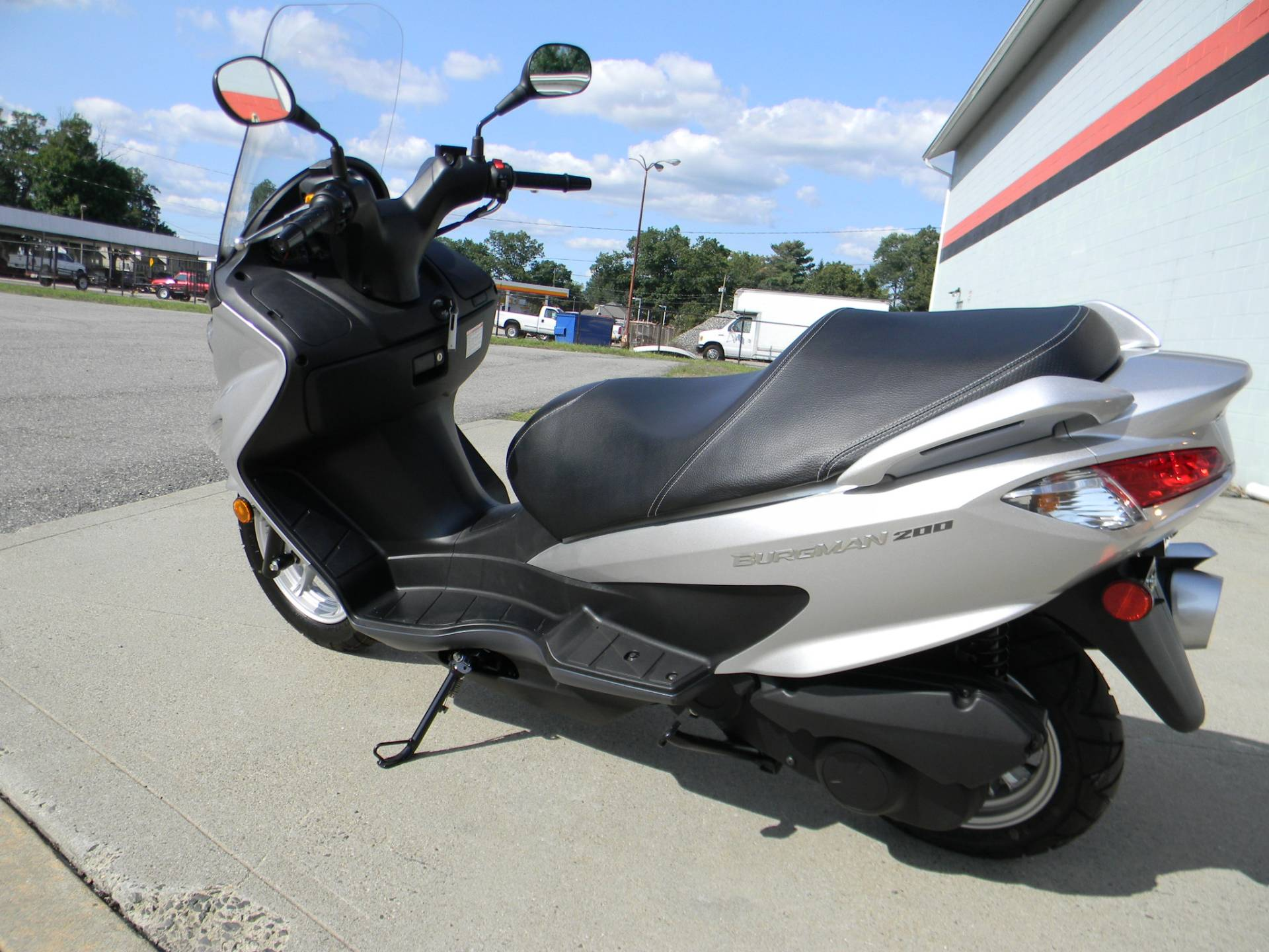 2014 Suzuki Burgman™ 200 ABS in Springfield, Massachusetts