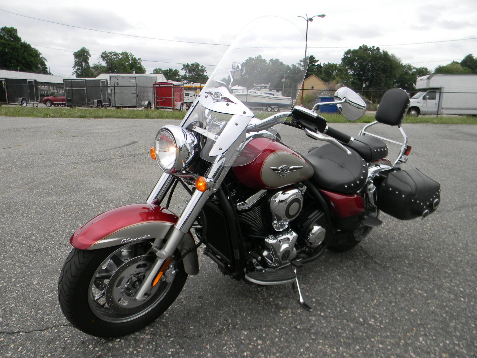 2010 Kawasaki Vulcan® 1700 Classic LT in Springfield, Massachusetts - Photo 5