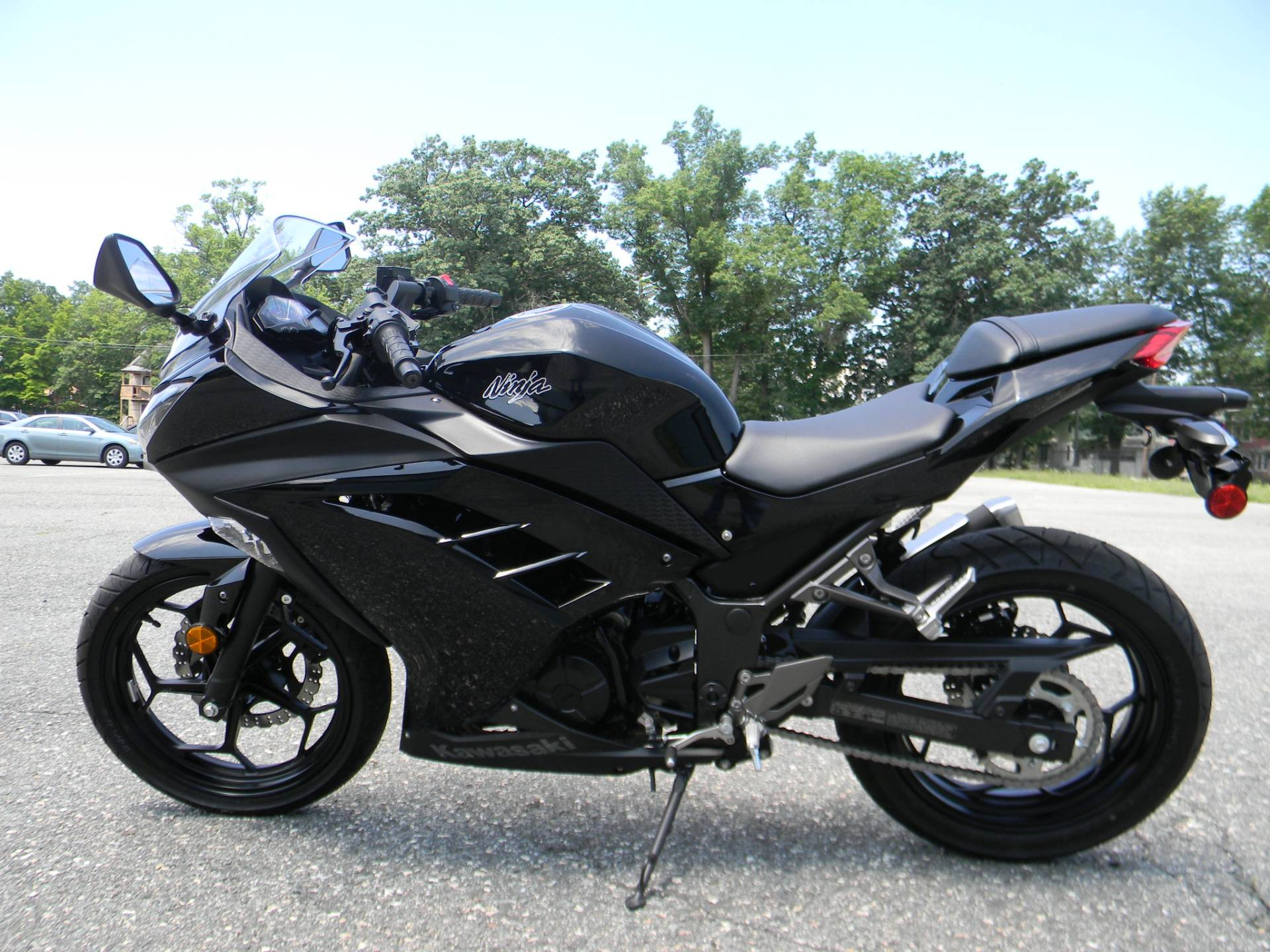 2014 Kawasaki Ninja® 300 in Springfield, Massachusetts