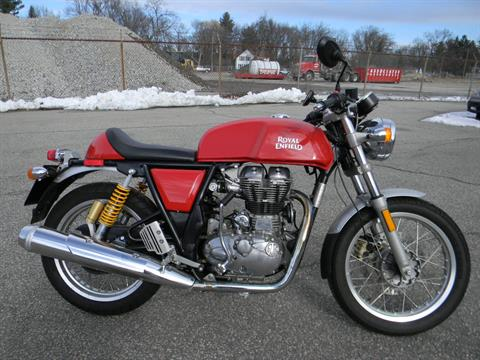 2014 Royal Enfield Continental GT Café Racer in Springfield, Massachusetts