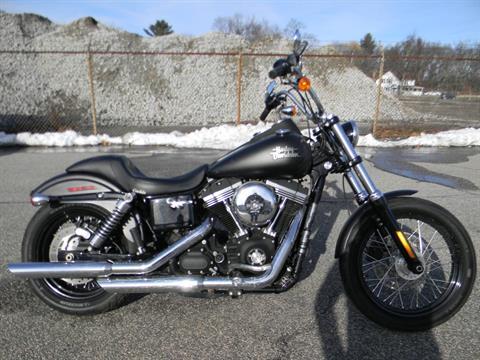 2013 Harley-Davidson Dyna® Street Bob® in Springfield, Massachusetts