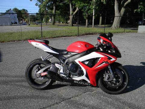 2007 Suzuki GSX-R600™ in Springfield, Massachusetts - Photo 1