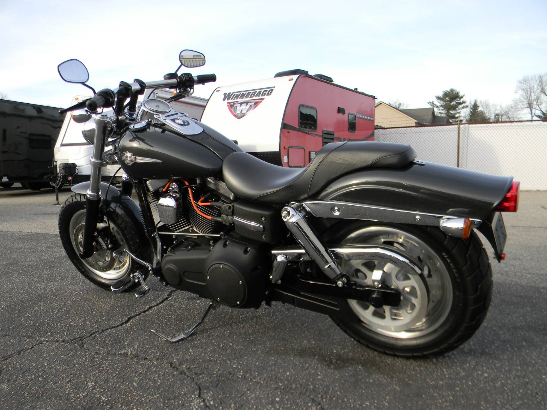 2011 Harley-Davidson Dyna® Fat Bob® in Springfield, Massachusetts - Photo 7