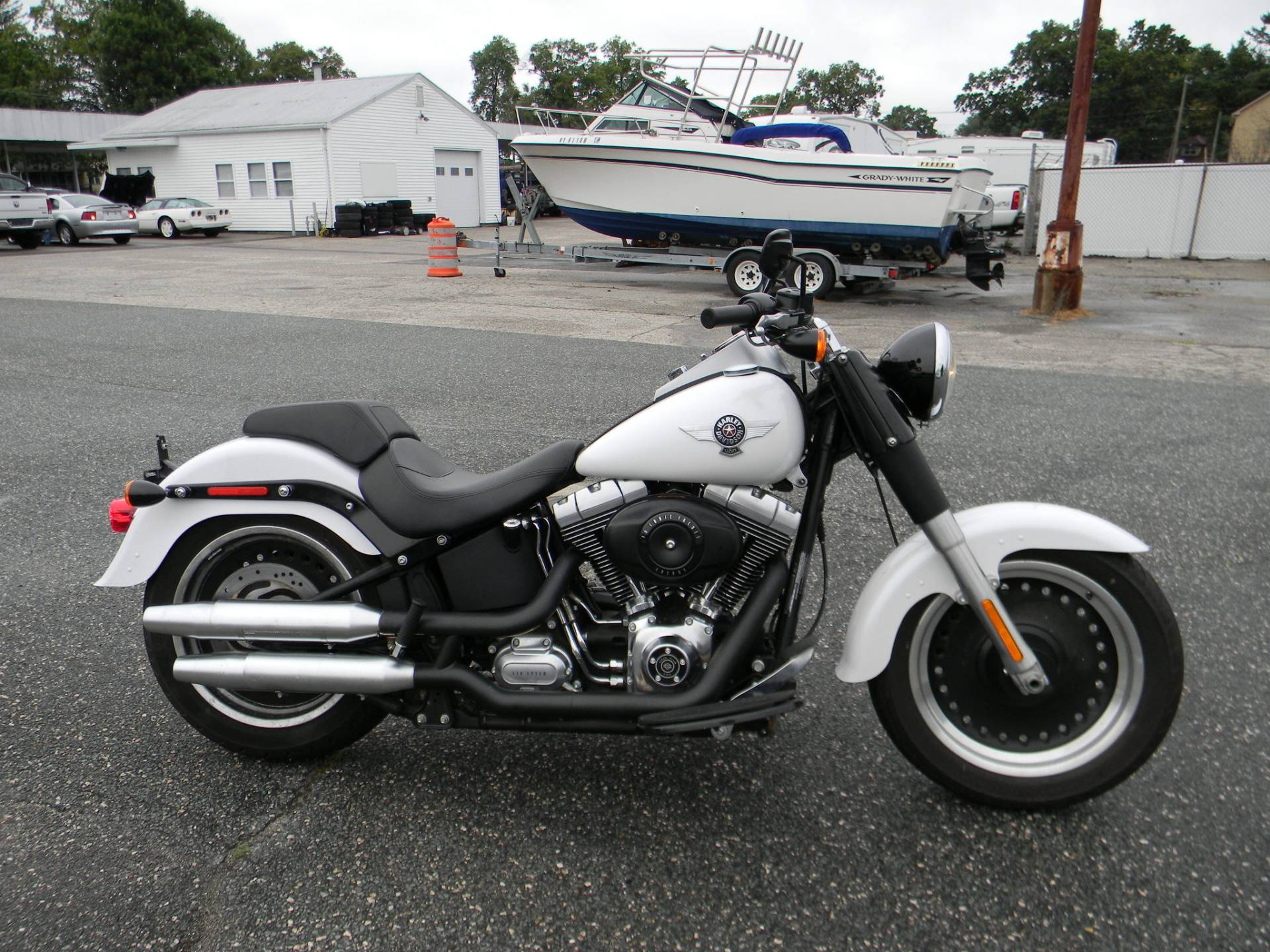 2011 Harley-Davidson Softail® Fat Boy® Lo in Springfield, Massachusetts - Photo 1