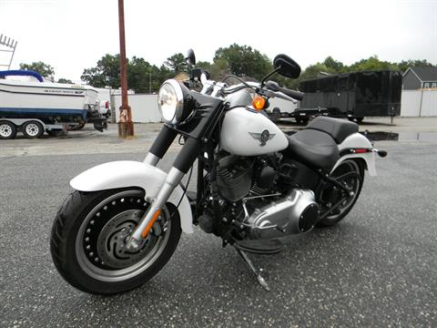 2011 Harley-Davidson Softail® Fat Boy® Lo in Springfield, Massachusetts - Photo 4
