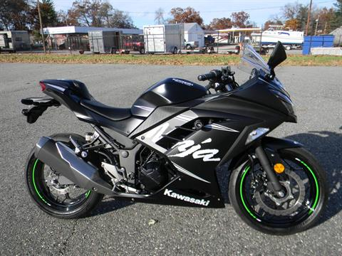 2017 Kawasaki Ninja 300 ABS Winter Test Edition in Springfield, Massachusetts