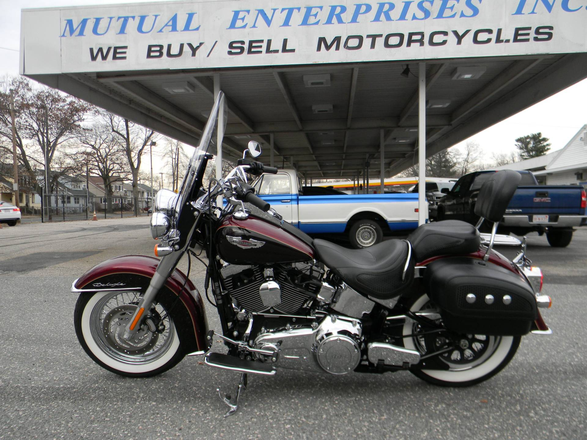 2014 Harley-Davidson Softail® Deluxe in Springfield, Massachusetts