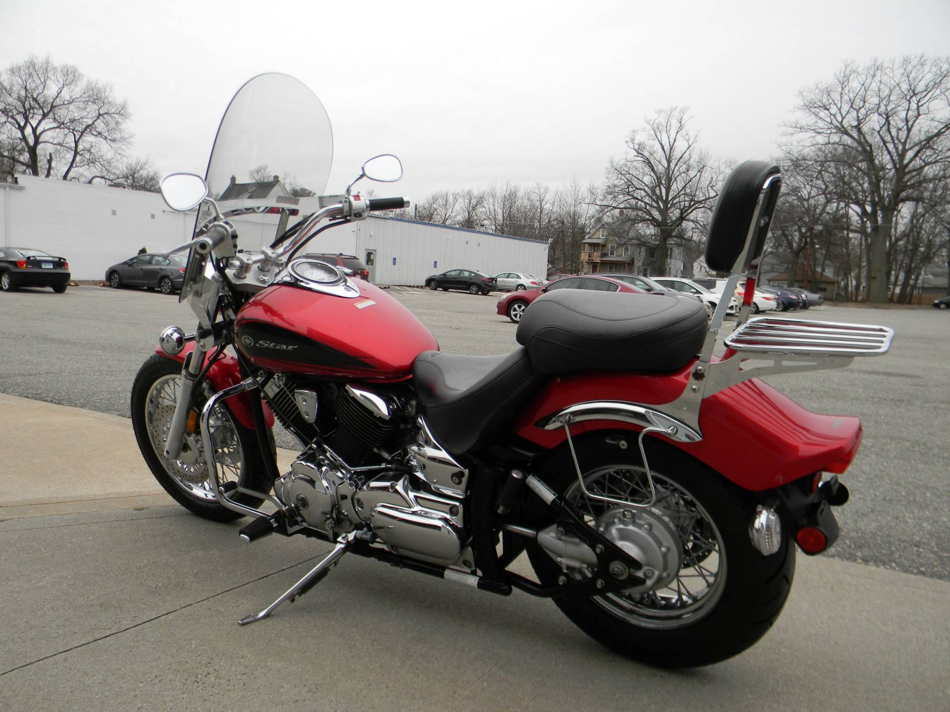 2009 Yamaha V Star 1100 Custom in Springfield, Massachusetts