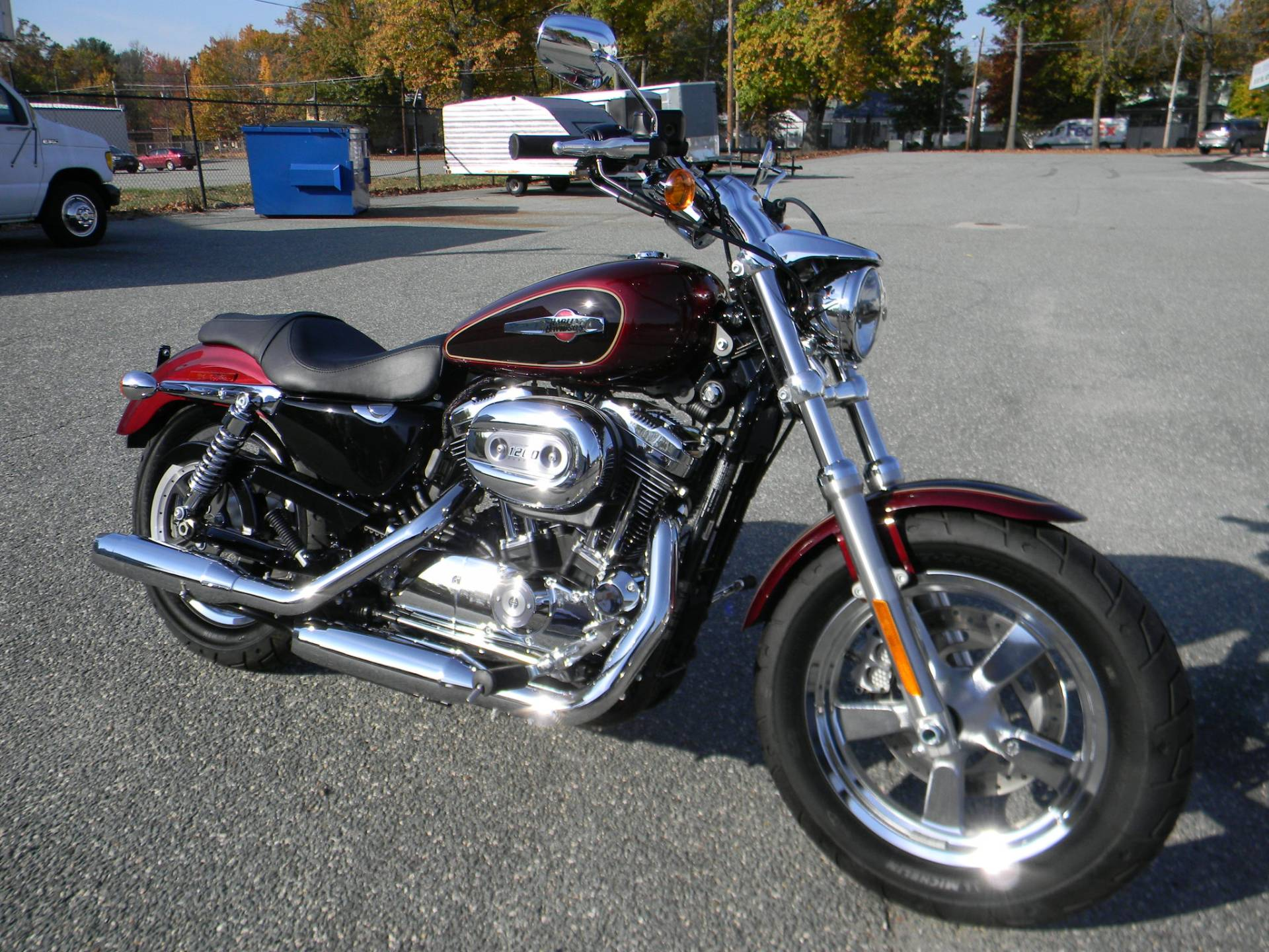 2015 Harley-Davidson 1200 Custom in Springfield, Massachusetts