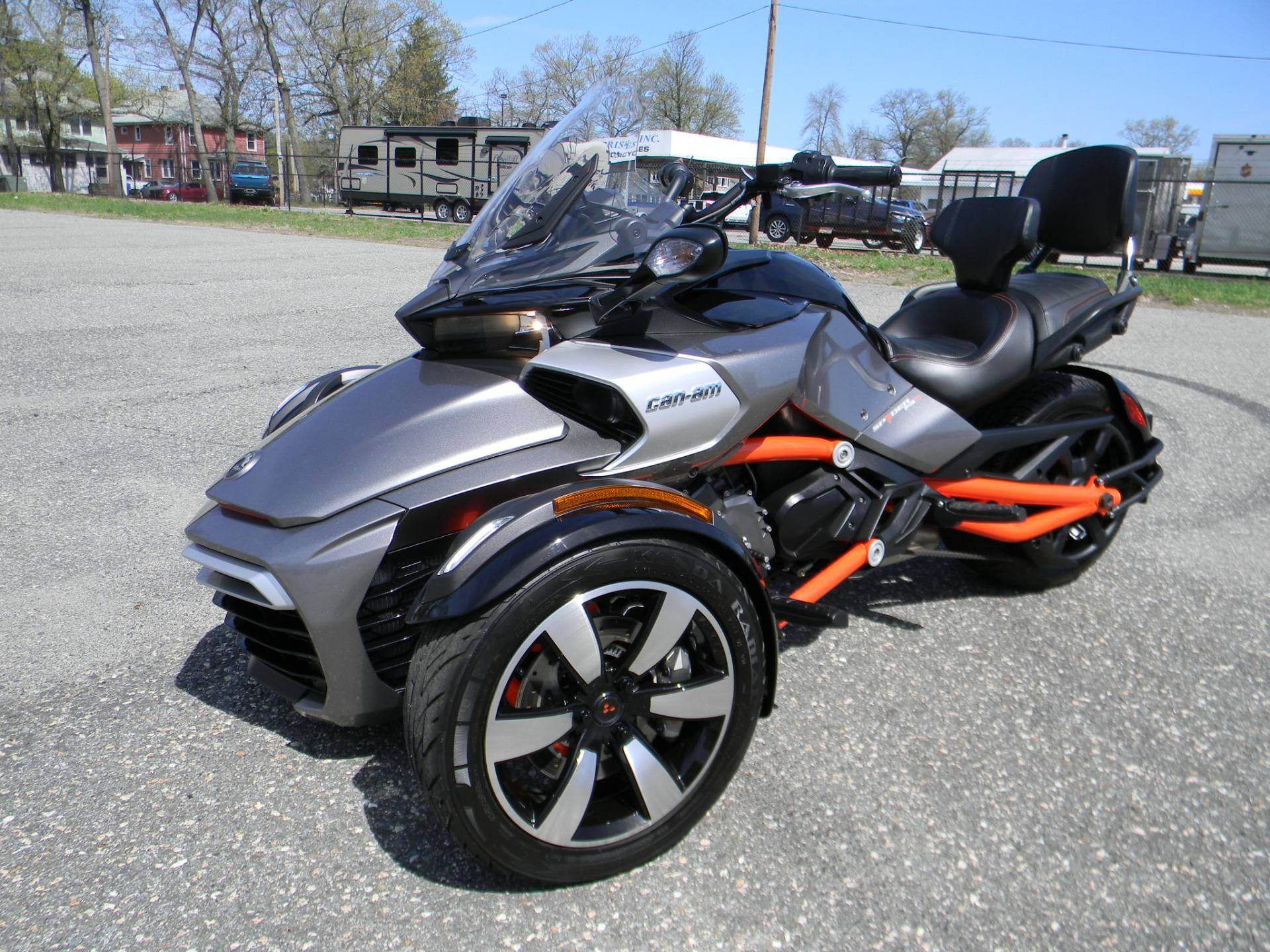 2015 Can-Am Spyder® F3-S SM6 in Springfield, Massachusetts