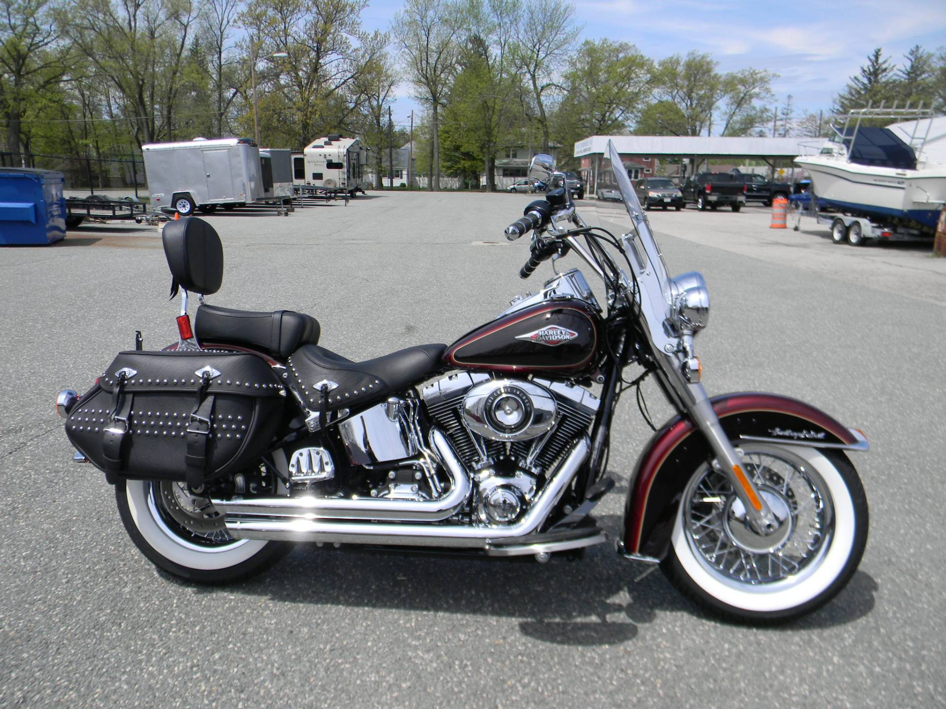 2015 Harley-Davidson Heritage Softail® Classic in Springfield, Massachusetts - Photo 1