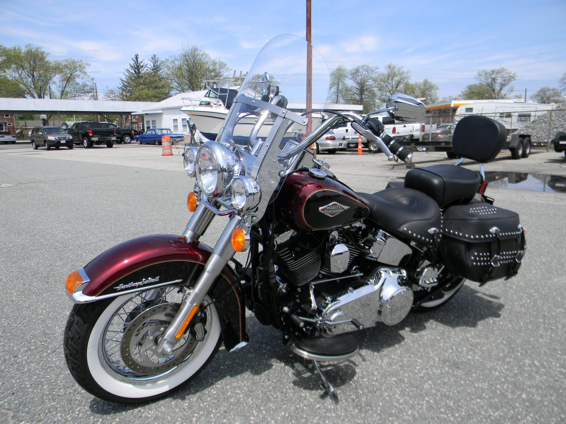 2015 Harley-Davidson Heritage Softail® Classic in Springfield, Massachusetts - Photo 5