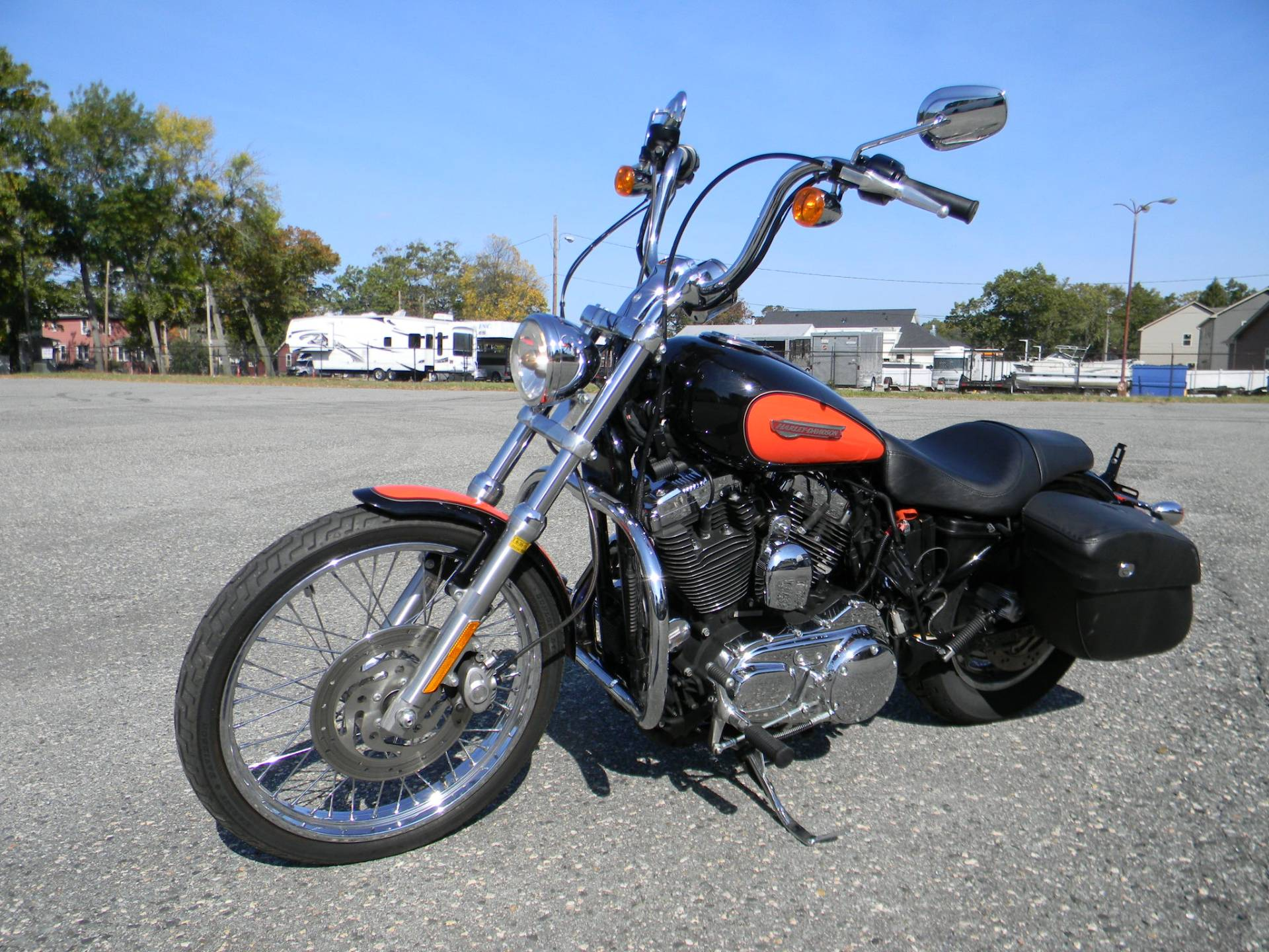 2009 Harley-Davidson Sportster® 1200 Custom in Springfield, Massachusetts - Photo 6