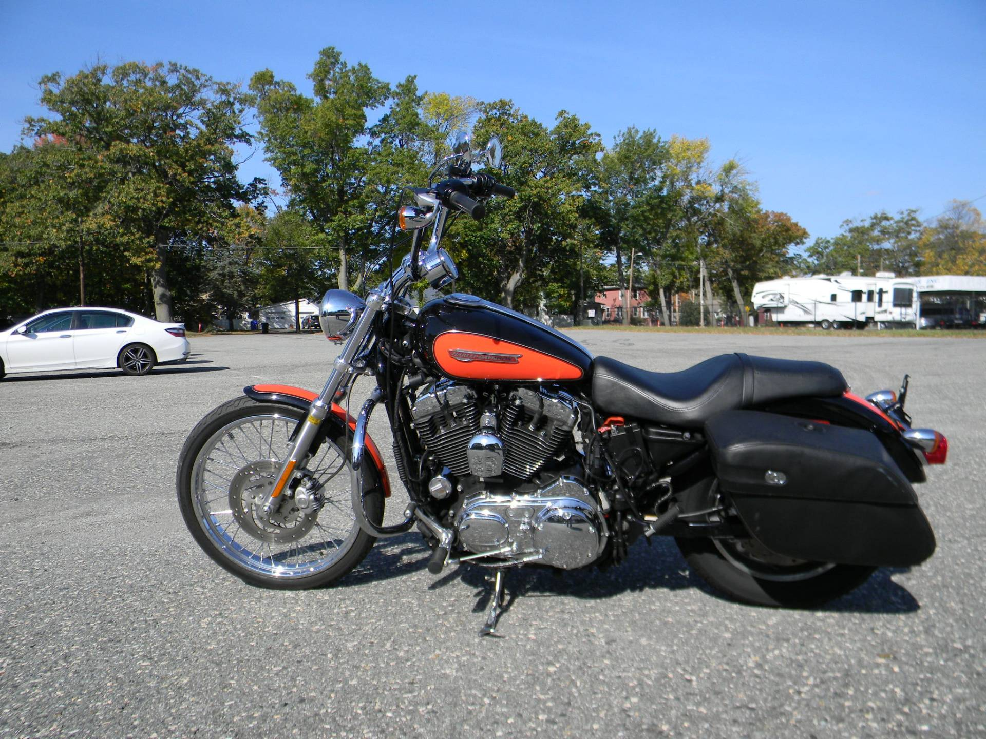 2009 Harley-Davidson Sportster® 1200 Custom in Springfield, Massachusetts - Photo 7