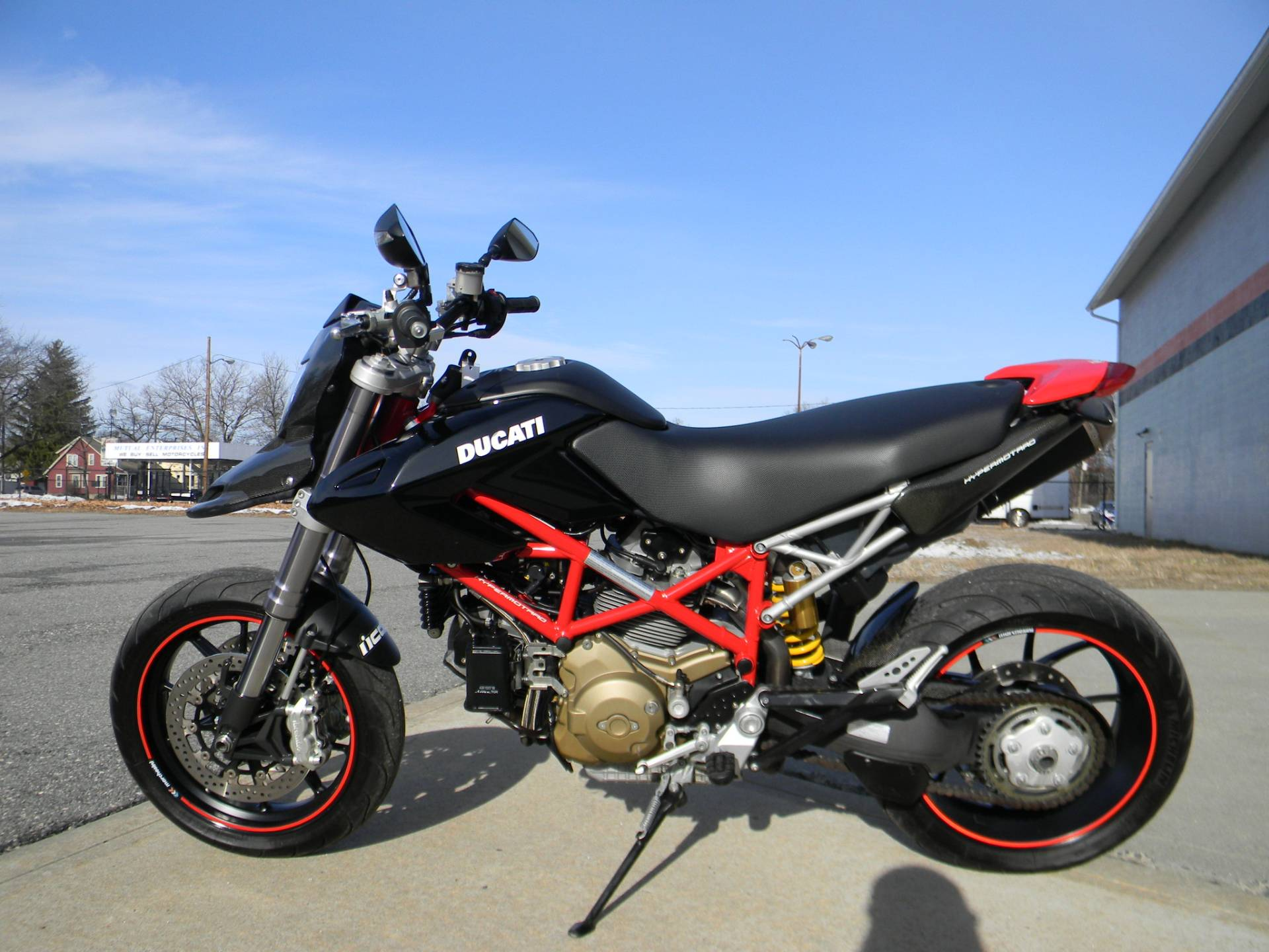 2008 Ducati Hypermotard 1100 in Springfield, Massachusetts
