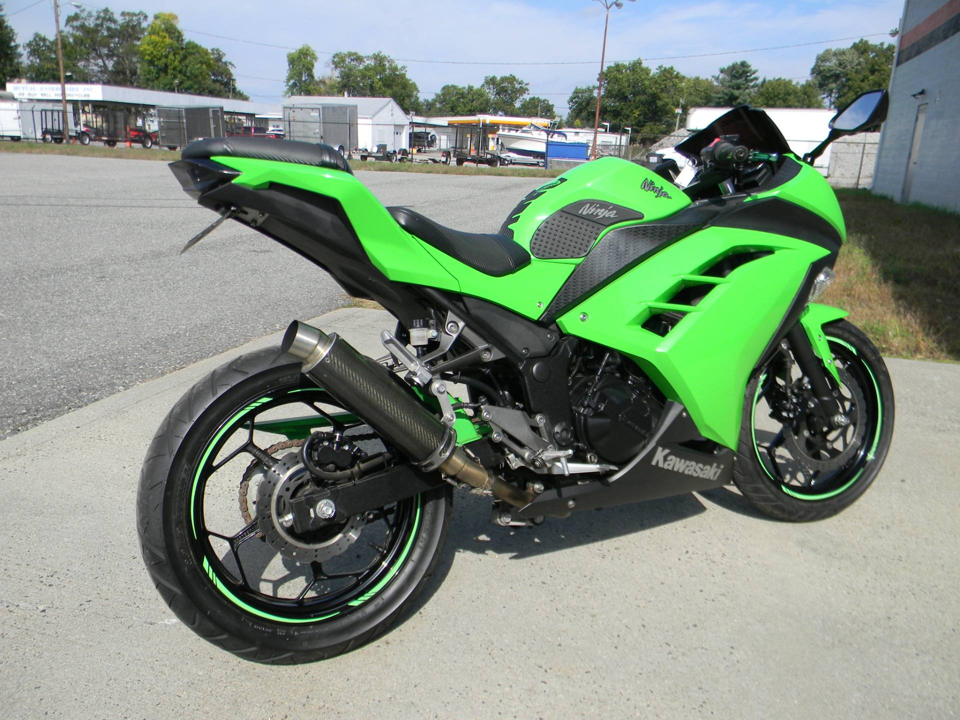 2015 Kawasaki Ninja® 300 in Springfield, Massachusetts